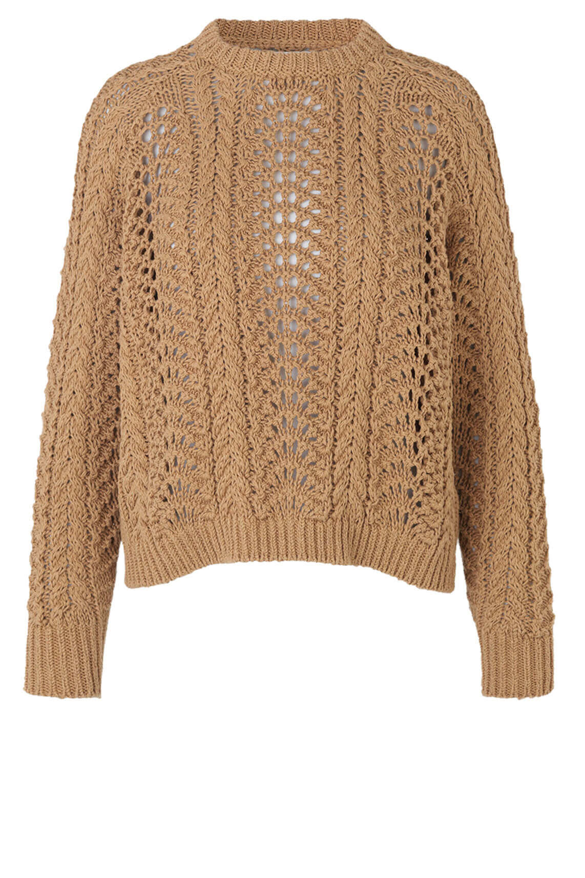Samsoe Samsoe Dames Haimie chunky knit sweater Bruin