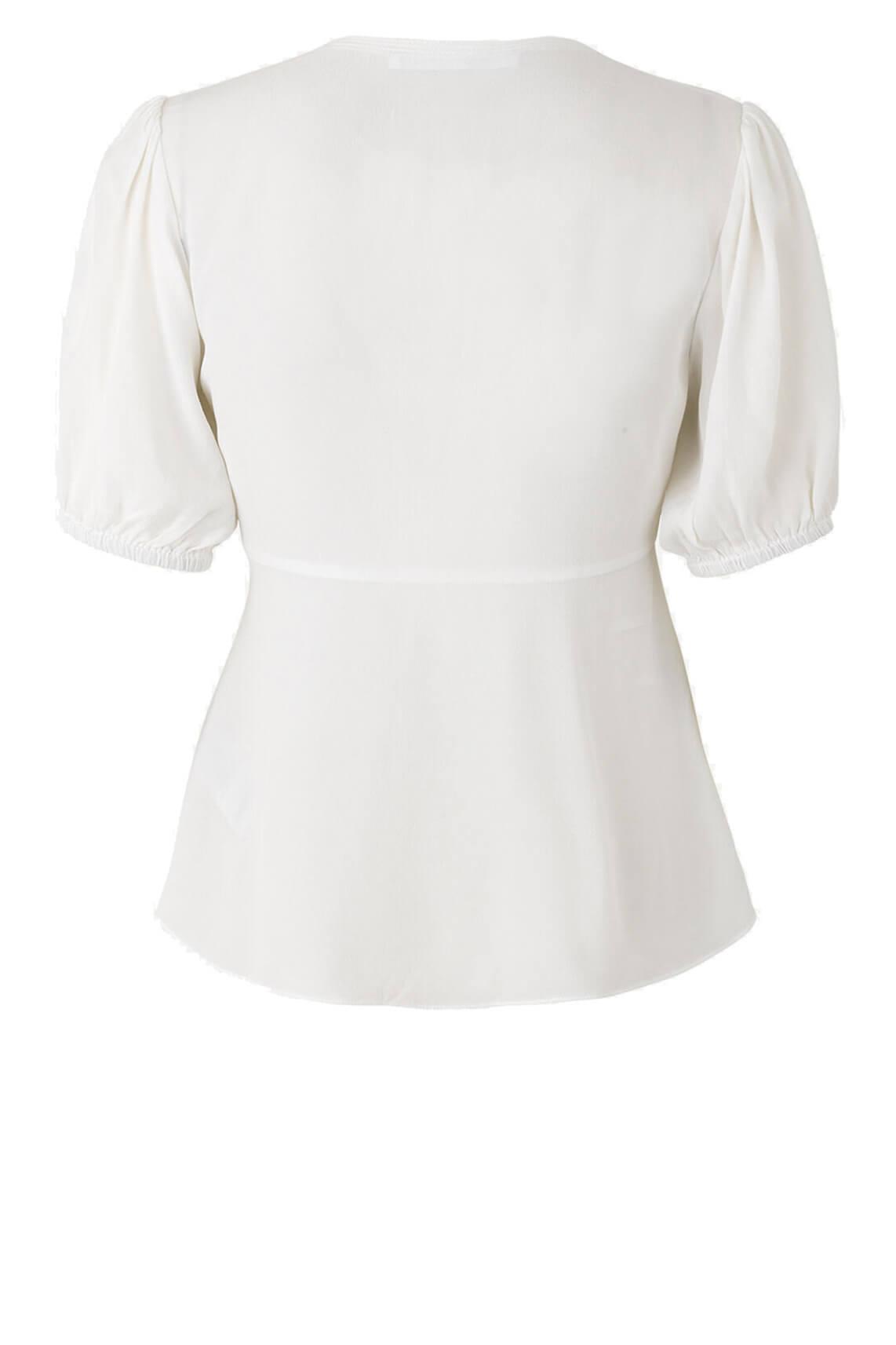 Samsoe Samsoe Dames Petunia blouse wit