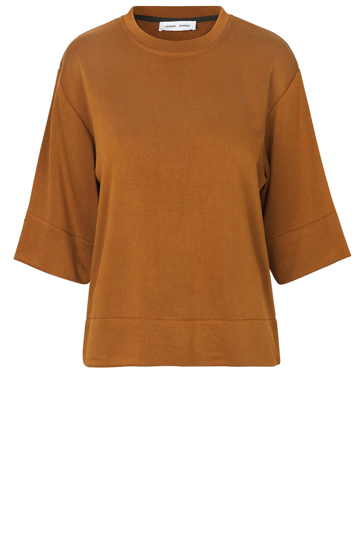 Samsoe Samsoe Dames Cira sweatshirt Bruin