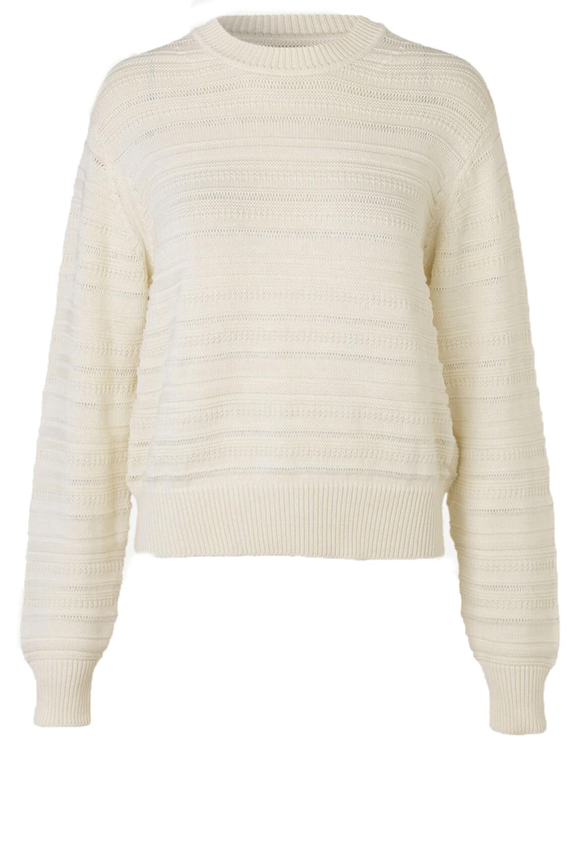 Samsoe Samsoe Dames Frey pullover wit