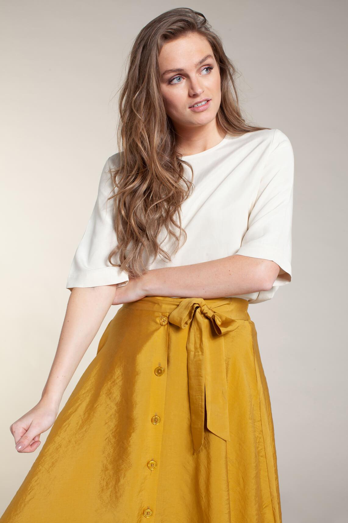 Samsoe Samsoe Dames Isabel blouse wit