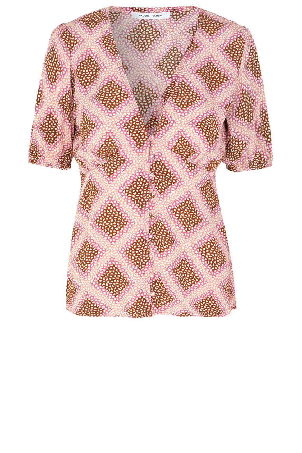 Samsoe Samsoe Dames Petunia blouse roze