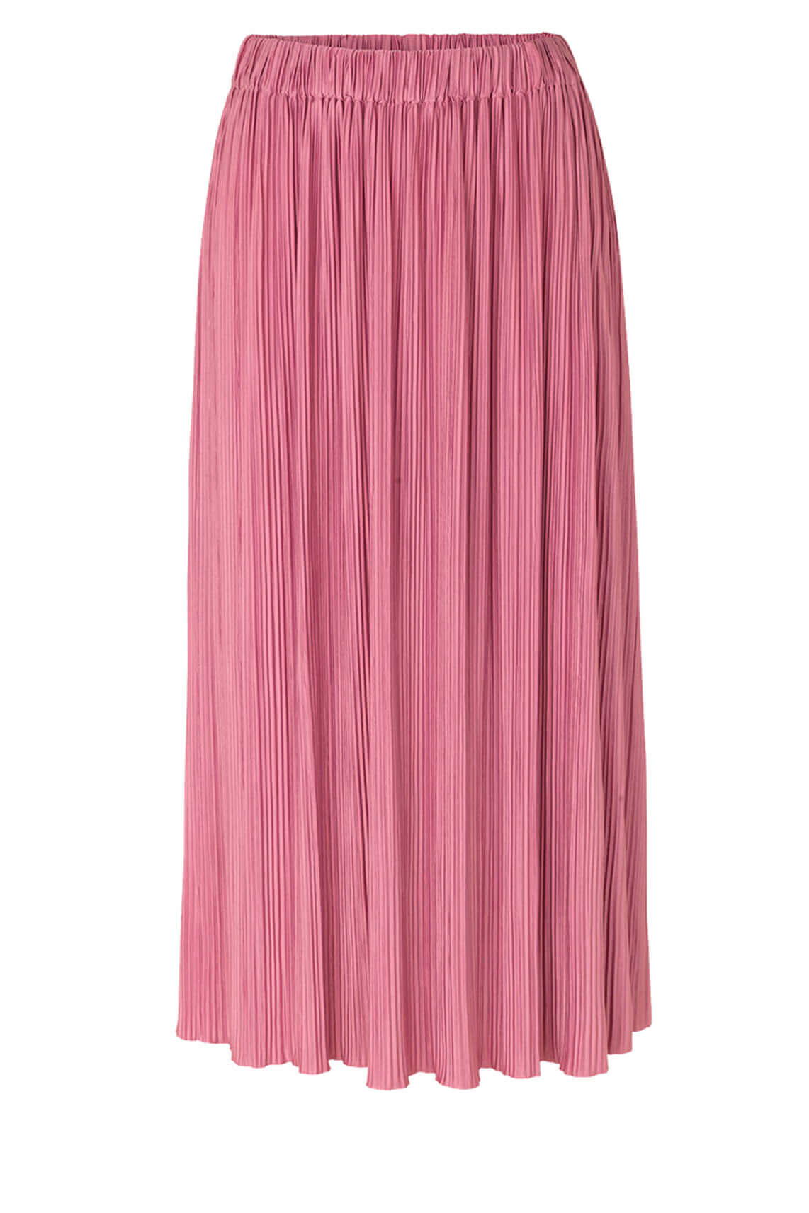 Samsoe Samsoe Dames Uma plissé rok roze