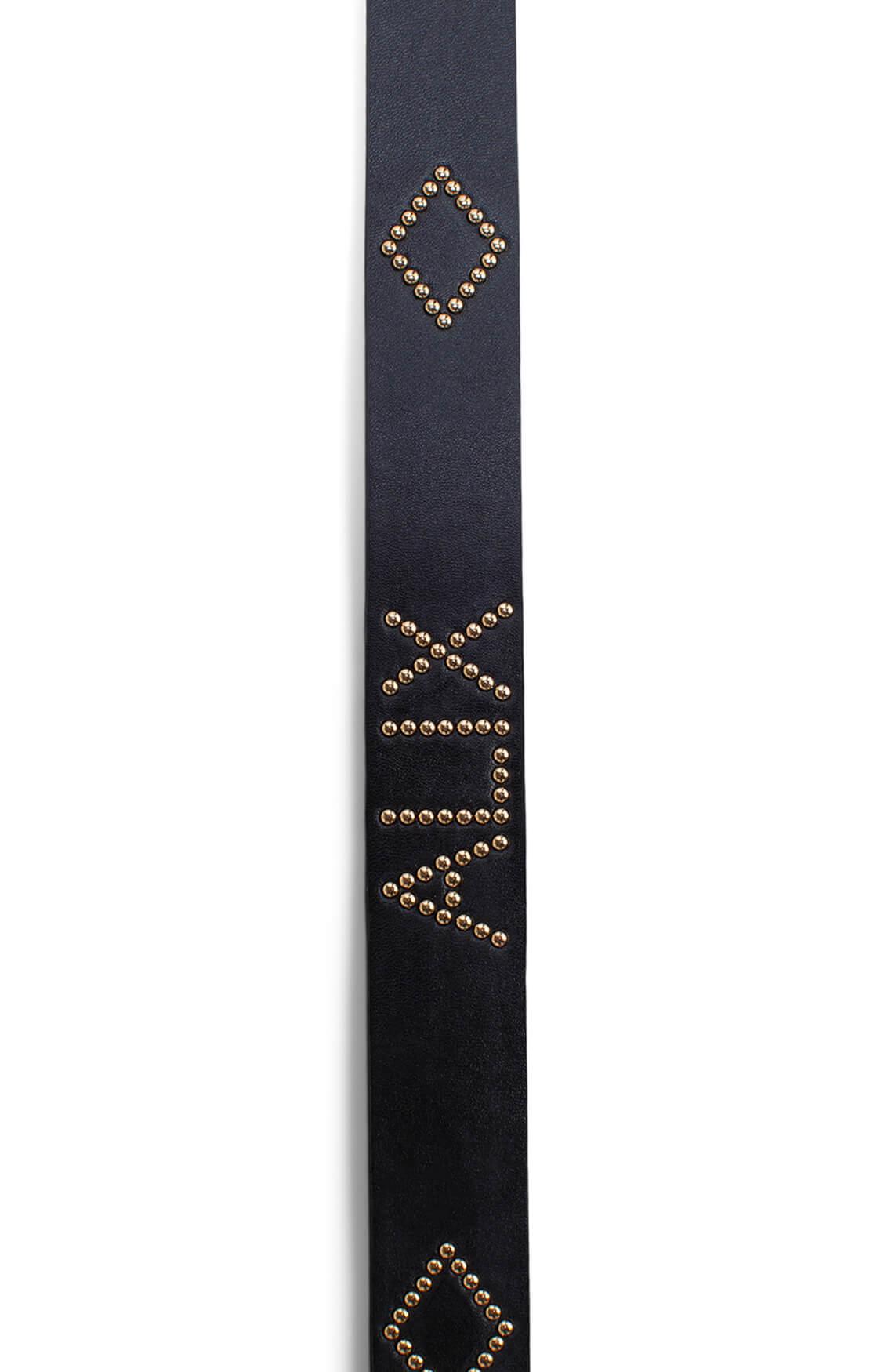 Alix The Label Dames Tailleceintuur met studs zwart