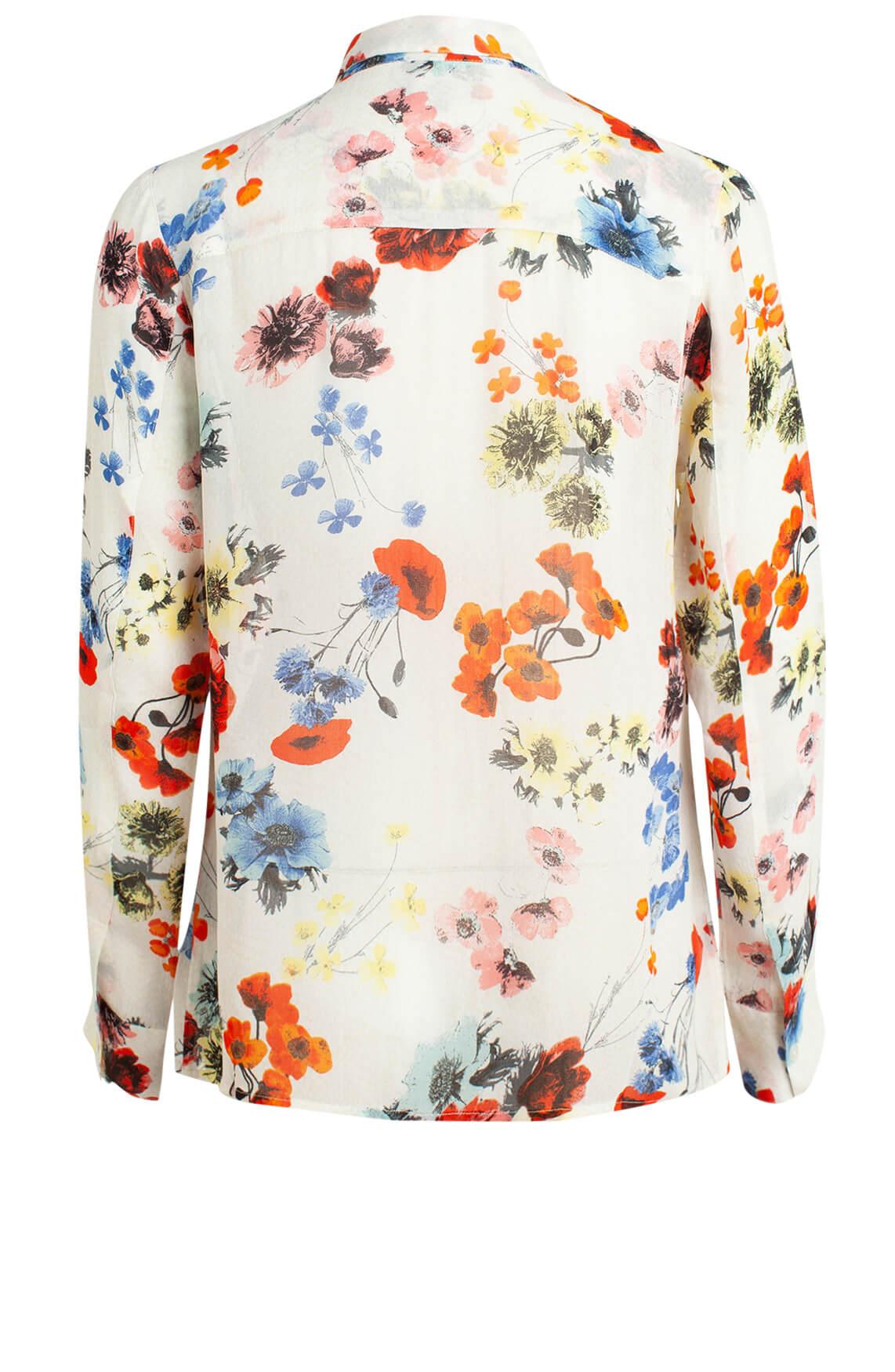 Alix The Label Dames Chiffon blouse Rood