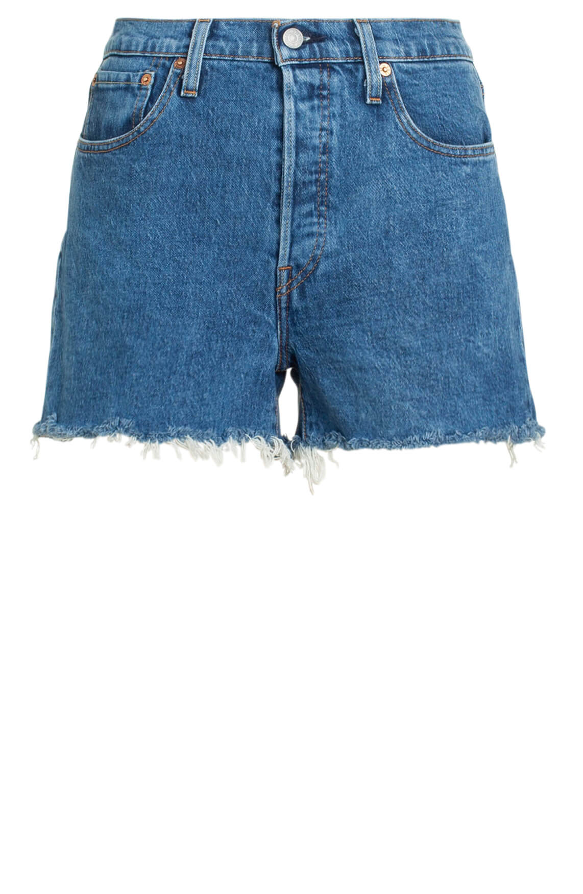 Levi s Dames Short Blauw