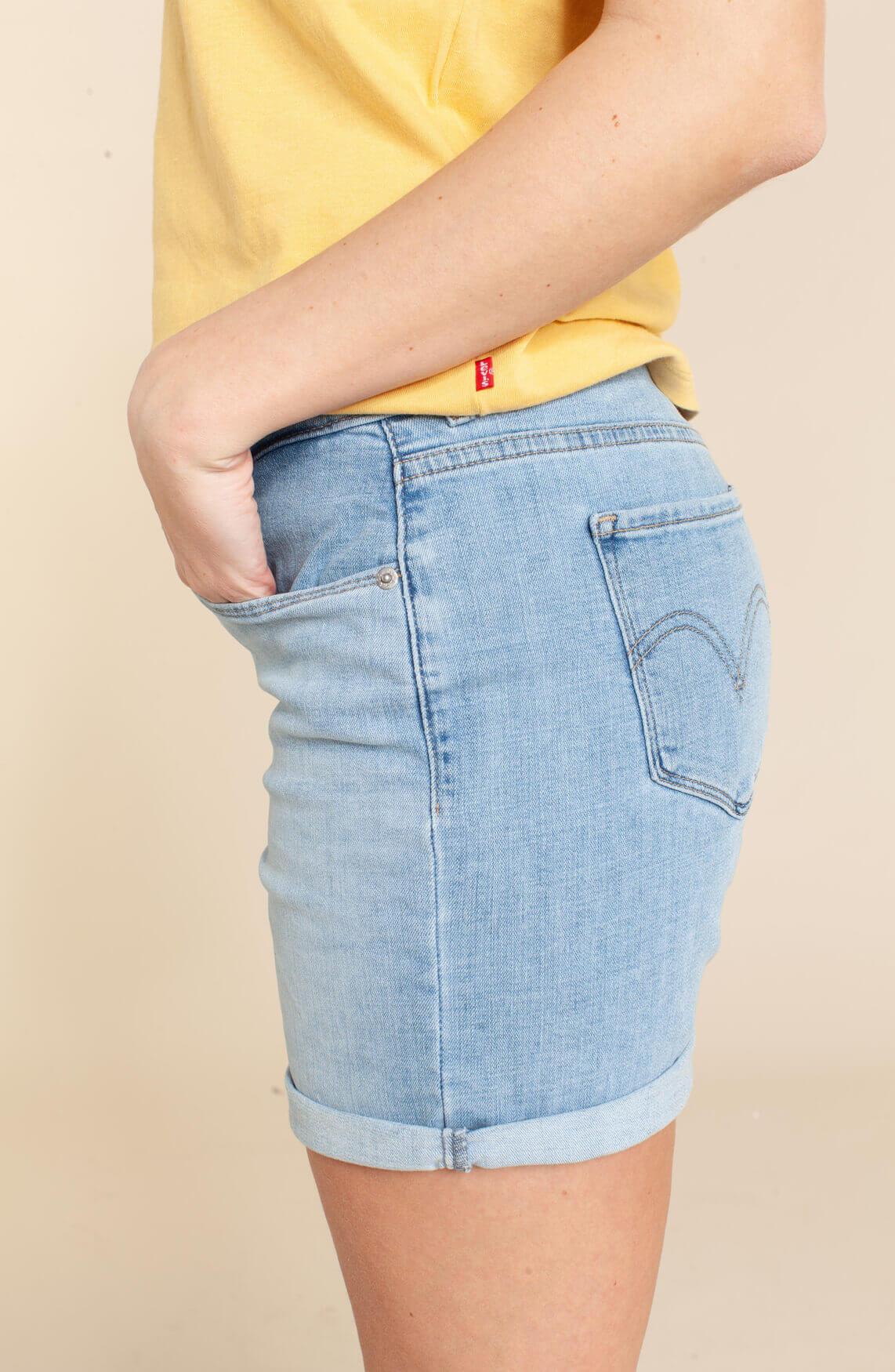 Levi's Dames Classic shorts Blauw