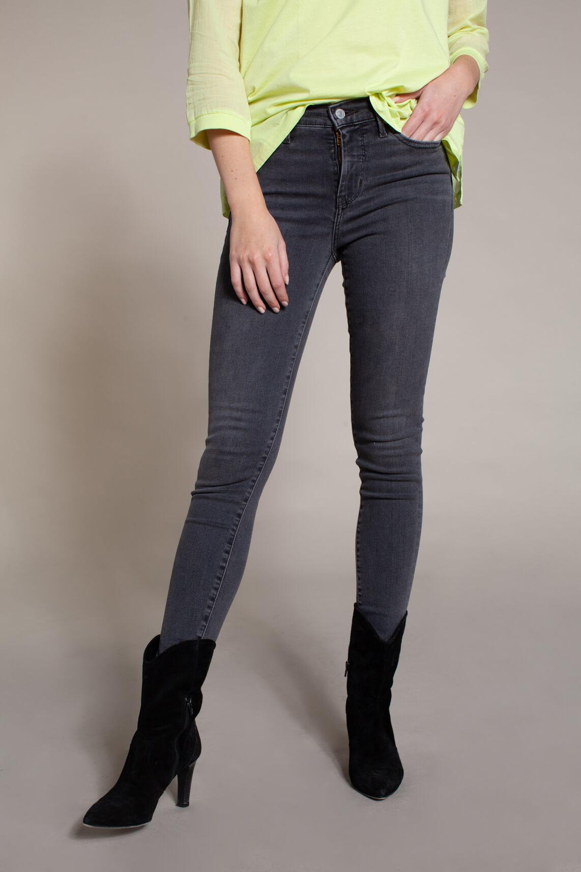 Levi s Dames 310 L30 Shaping skinny jeans Grijs