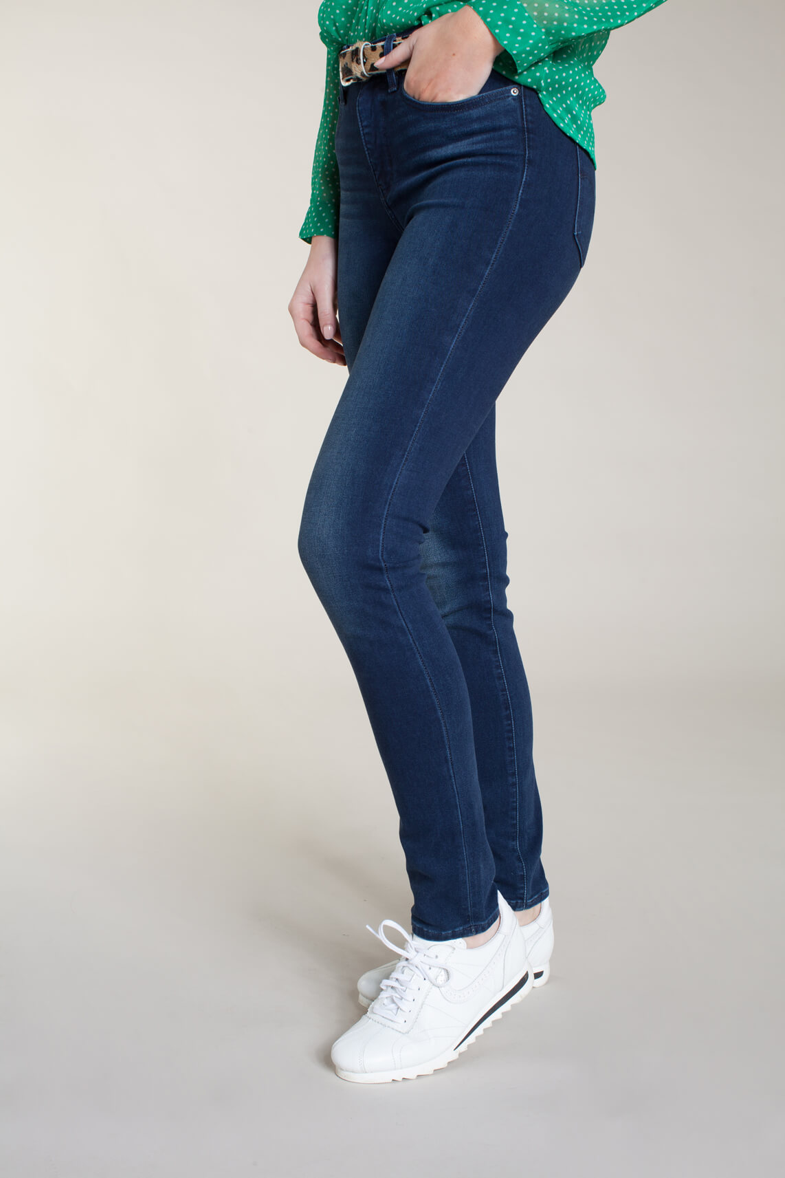 Levi's Dames 311 L30 shaping skinny jeans Blauw