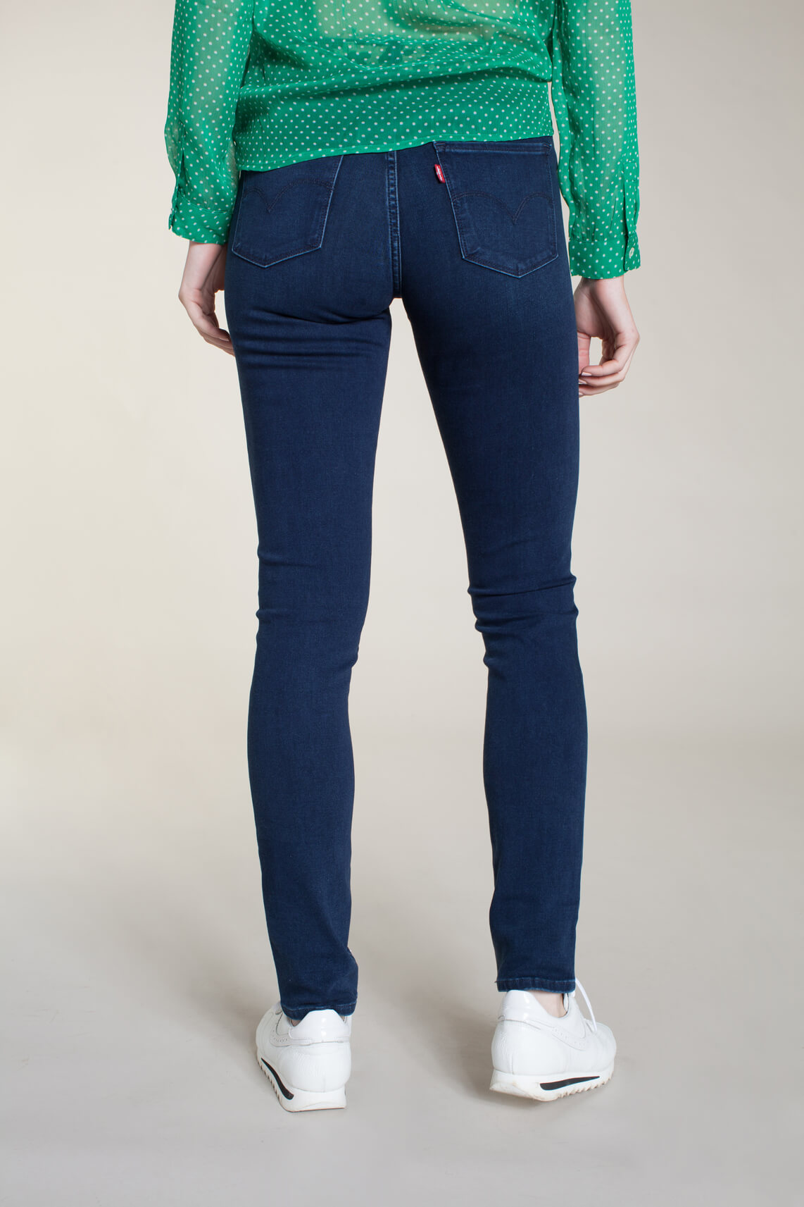 Levi s Dames 311 L30 shaping skinny jeans Blauw
