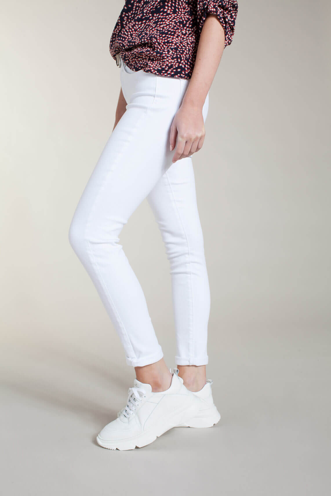 Levi s Dames 311 L28 shaping skinny jeans wit
