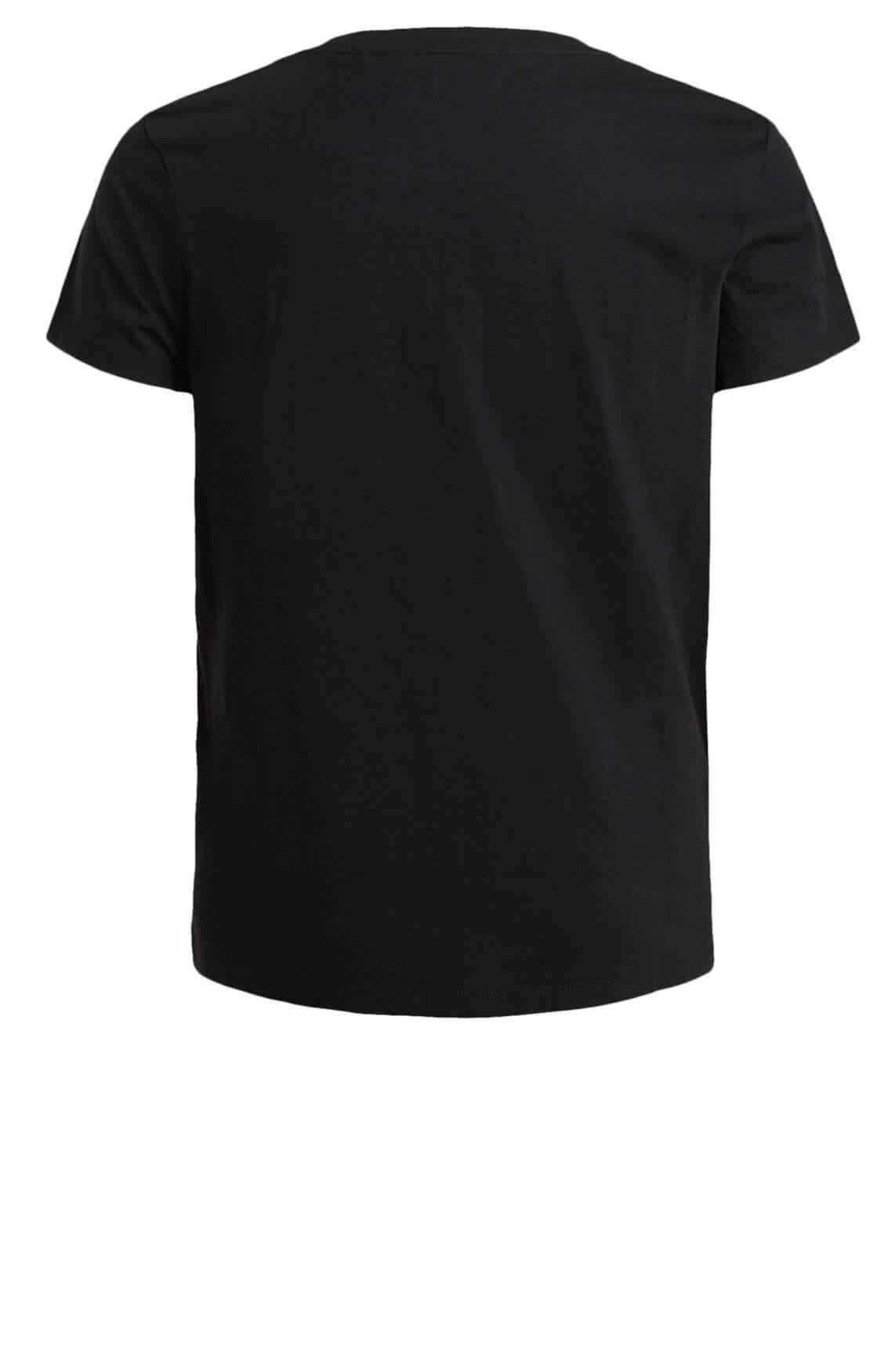 Levi s Dames Shirt met tekst opdruk zwart