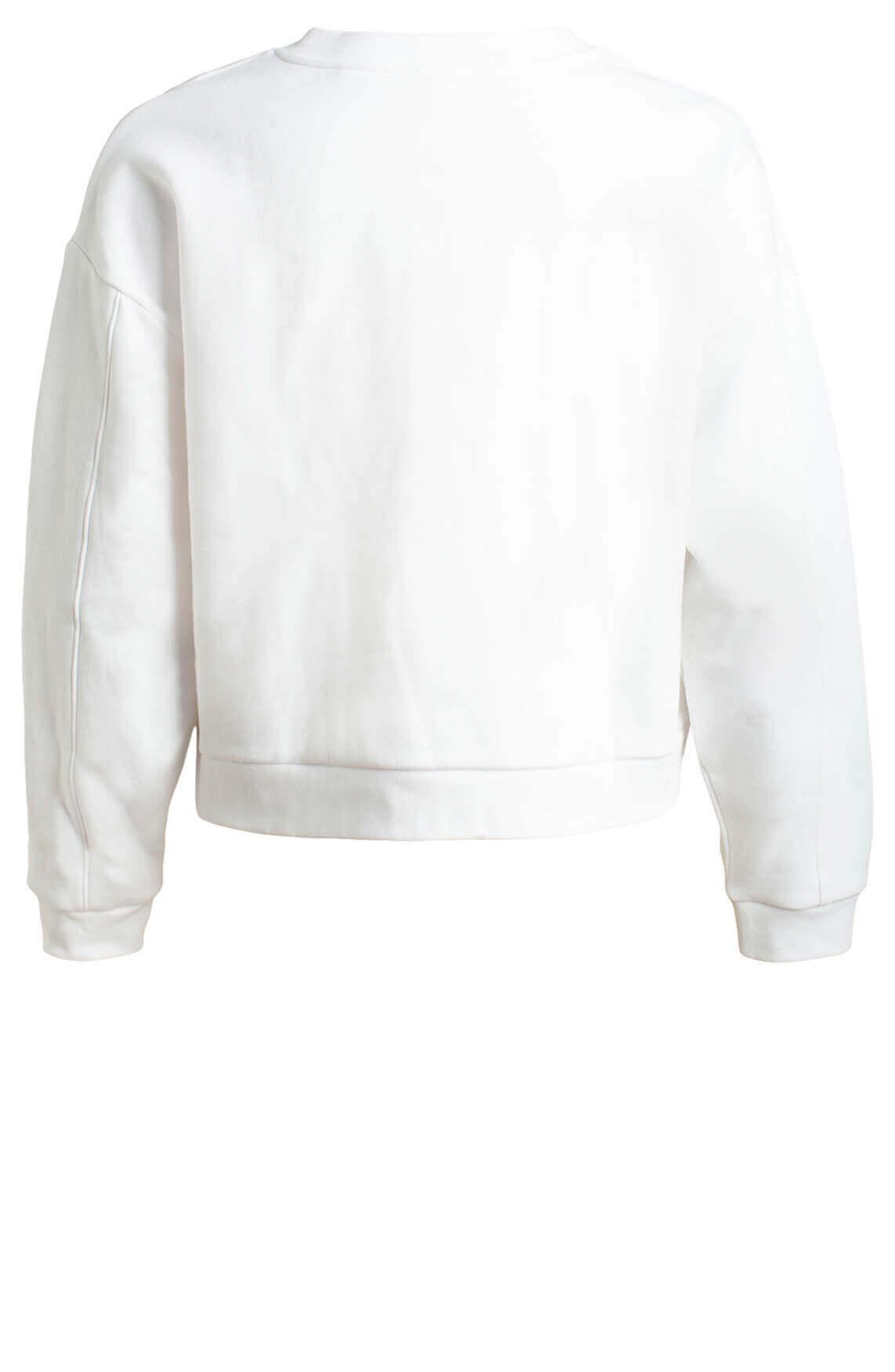 Levi s Dames Sweater met tekst opdruk wit