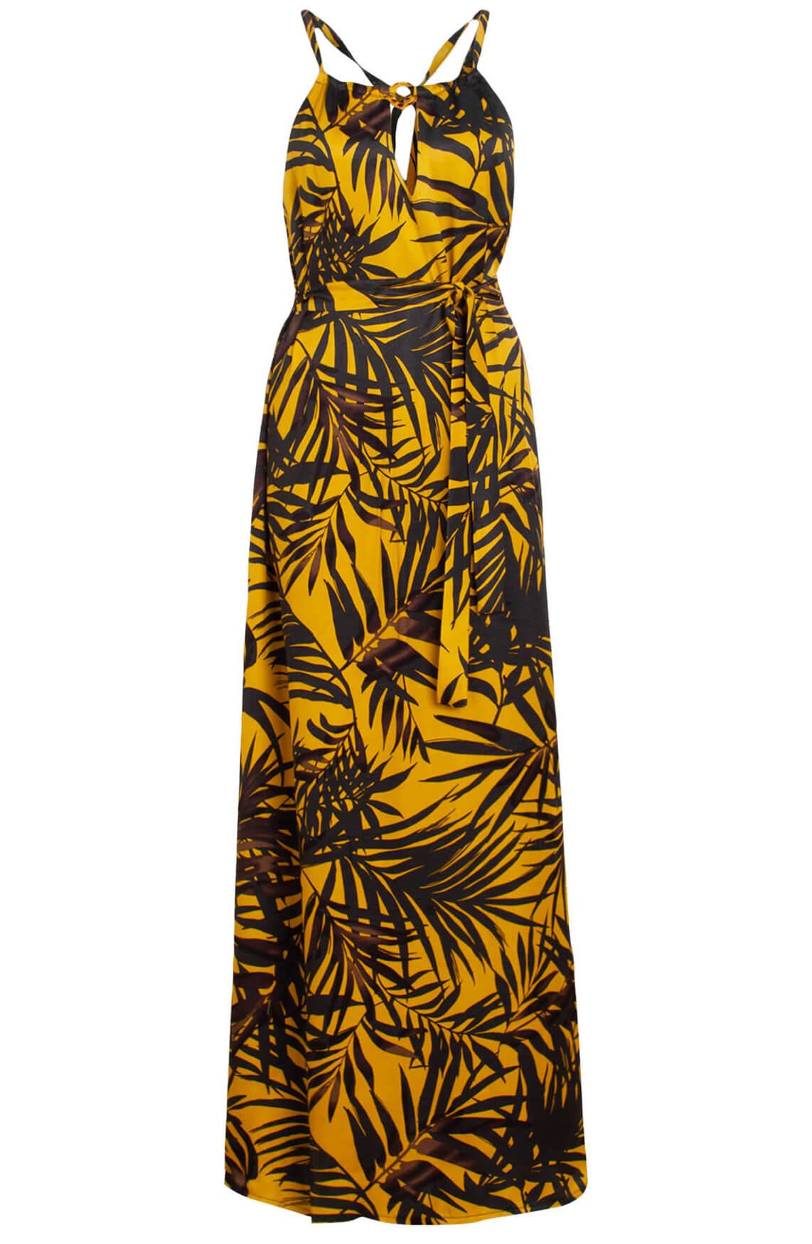Ana Alcazar Dames Maxi jurk geel