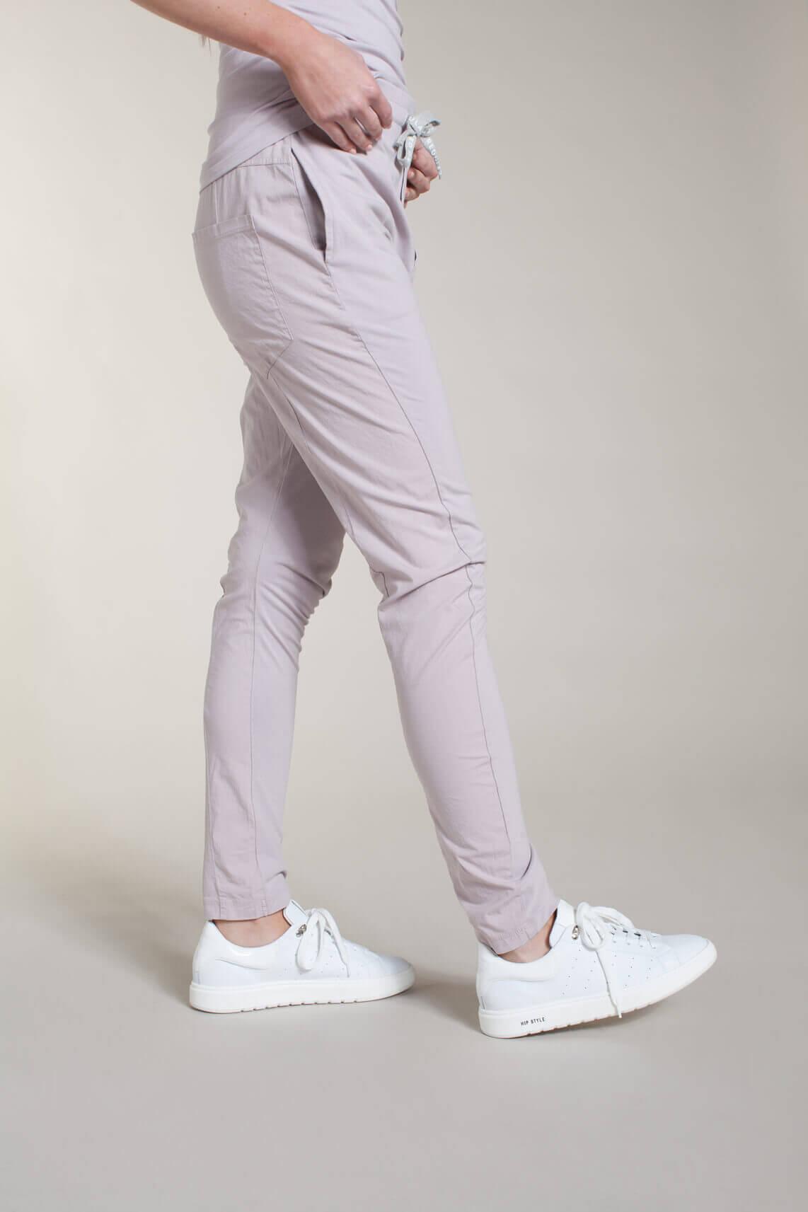 10 Days Dames Materiaalmix jogger roze