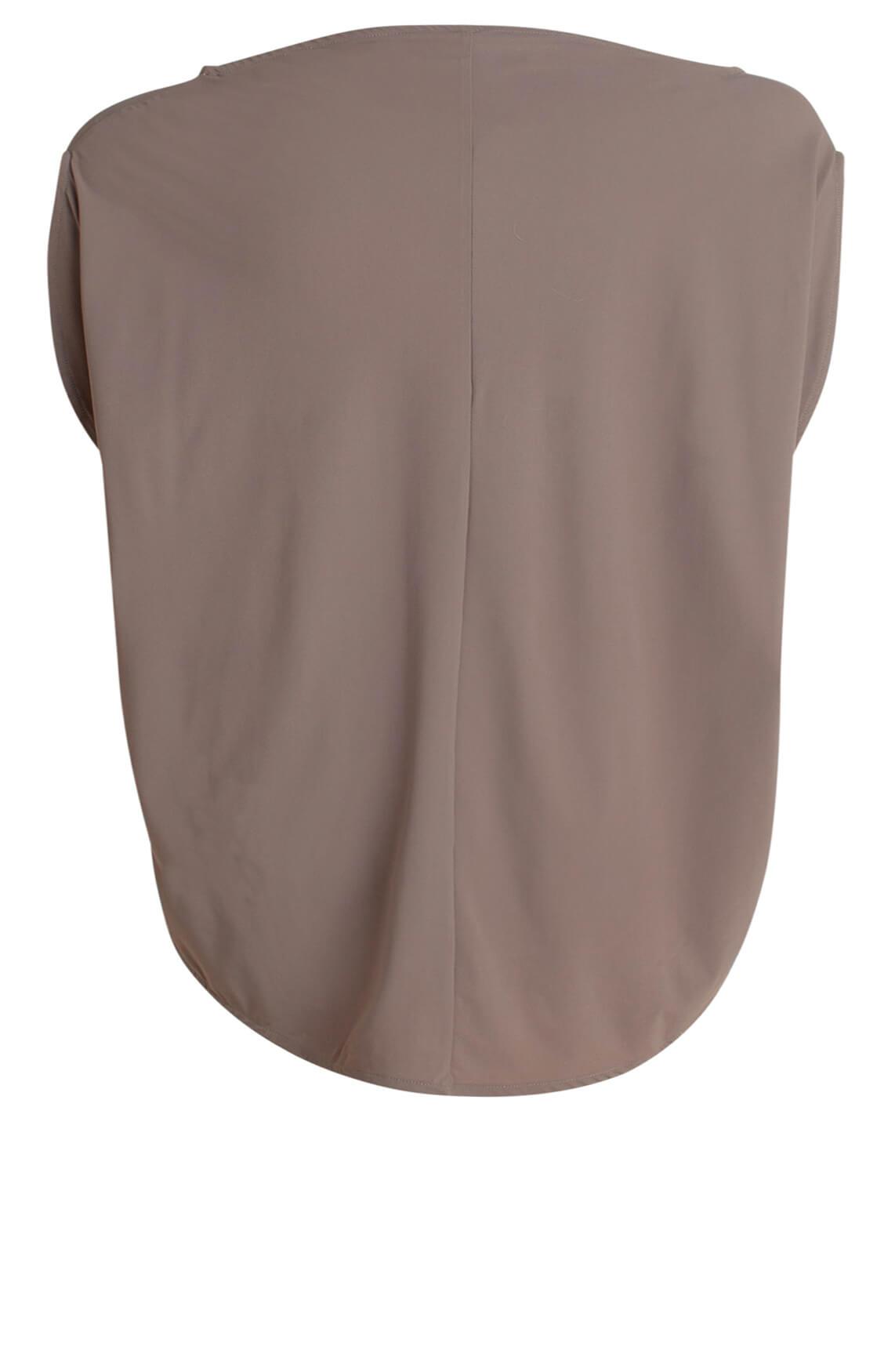 10 Days Dames Sporty shirt Bruin