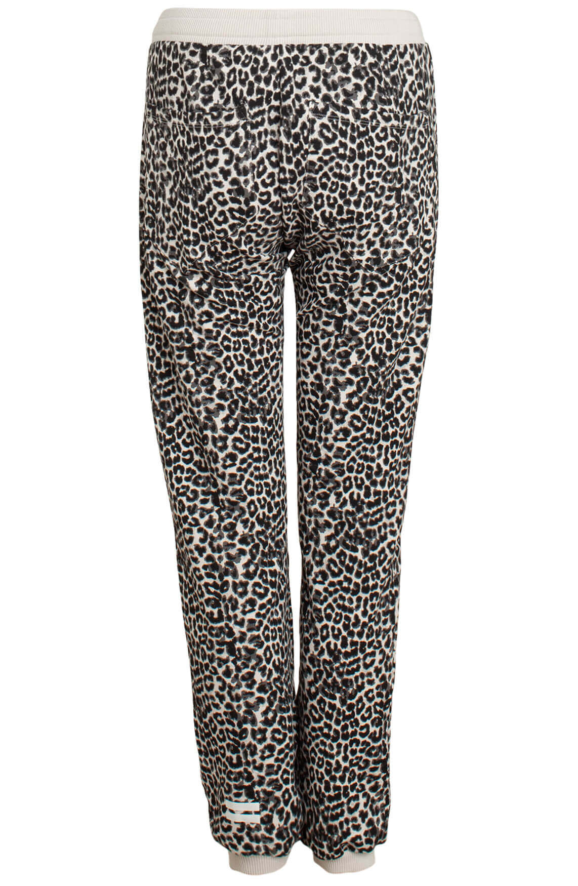 10 Days Dames Leopard jogger Grijs