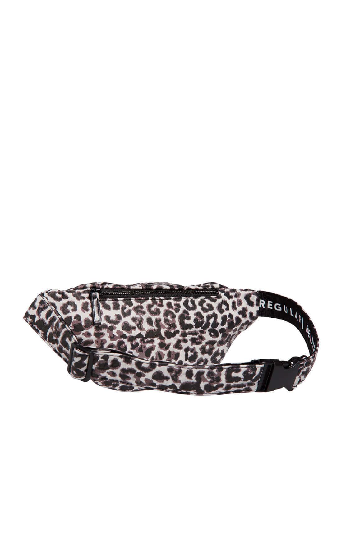 10 Days Dames Leopard fanny pack Bruin