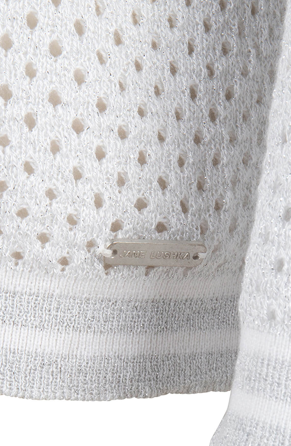 Jane Lushka Dames Elyse pullover Zilver