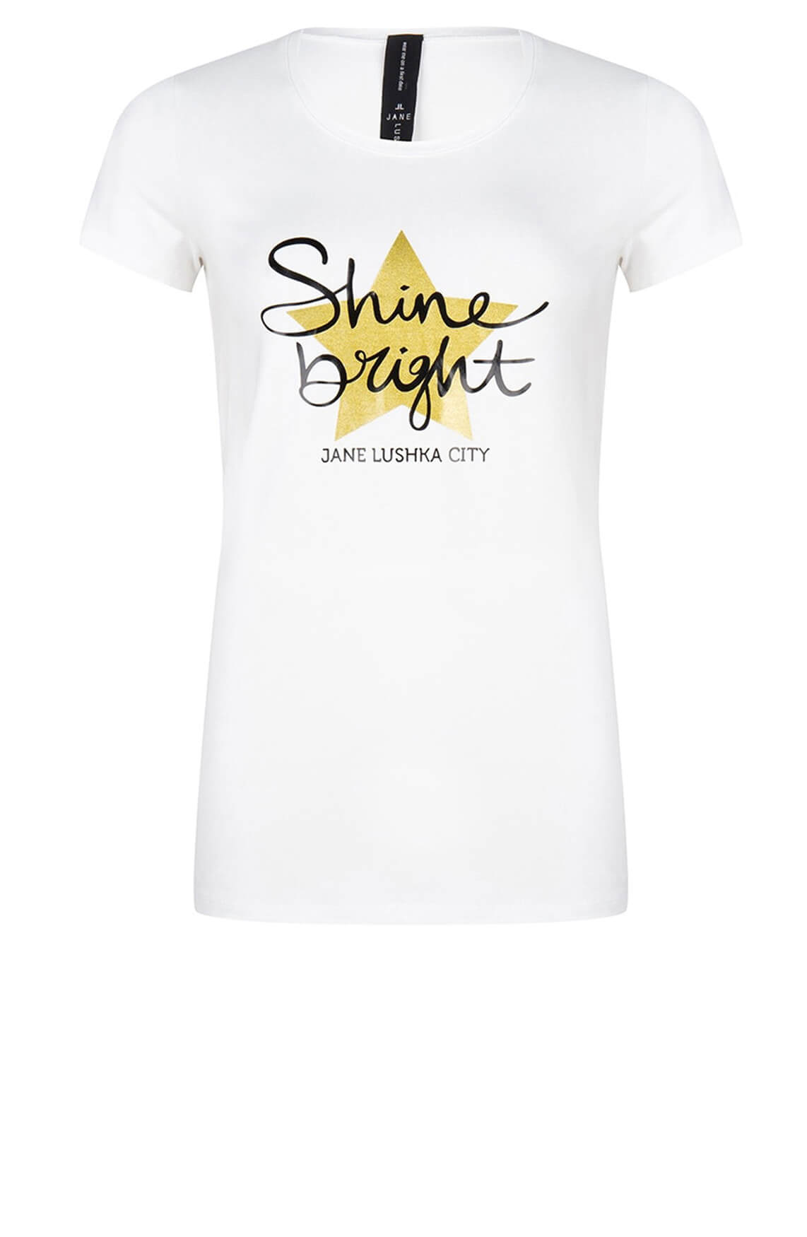 Jane Lushka Dames Frankie shine bright shirt wit