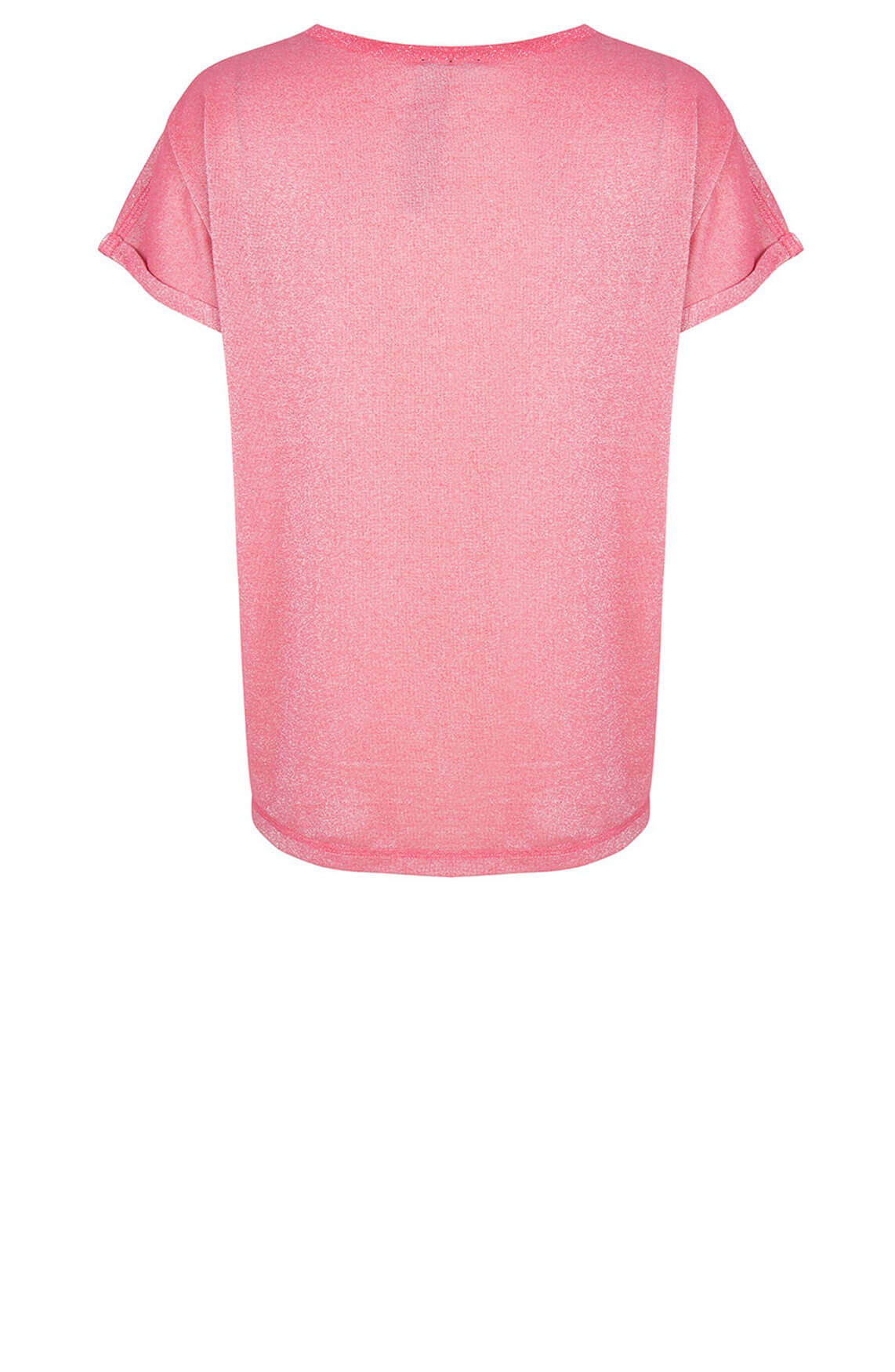 Jane Lushka Dames Hope glitter shirt roze