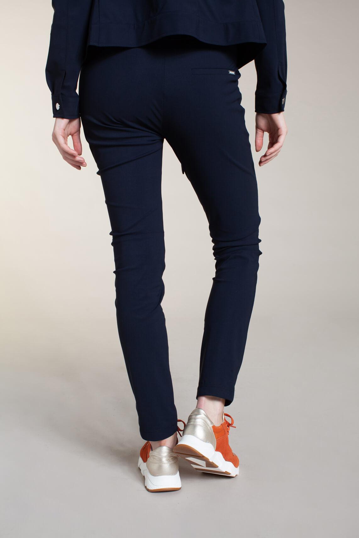 Jane Lushka Dames Vera broek met strik Blauw