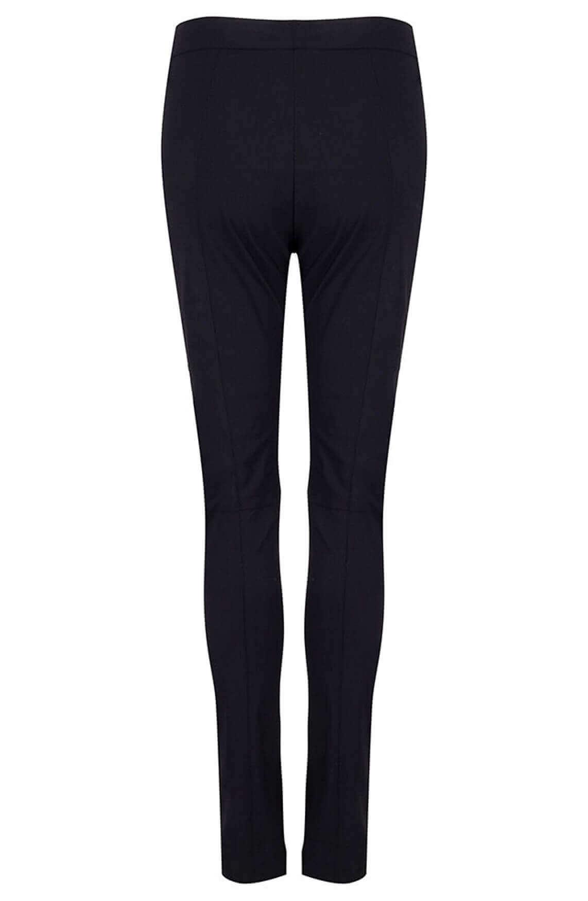 Jane Lushka Dames Pattie broek met split zwart