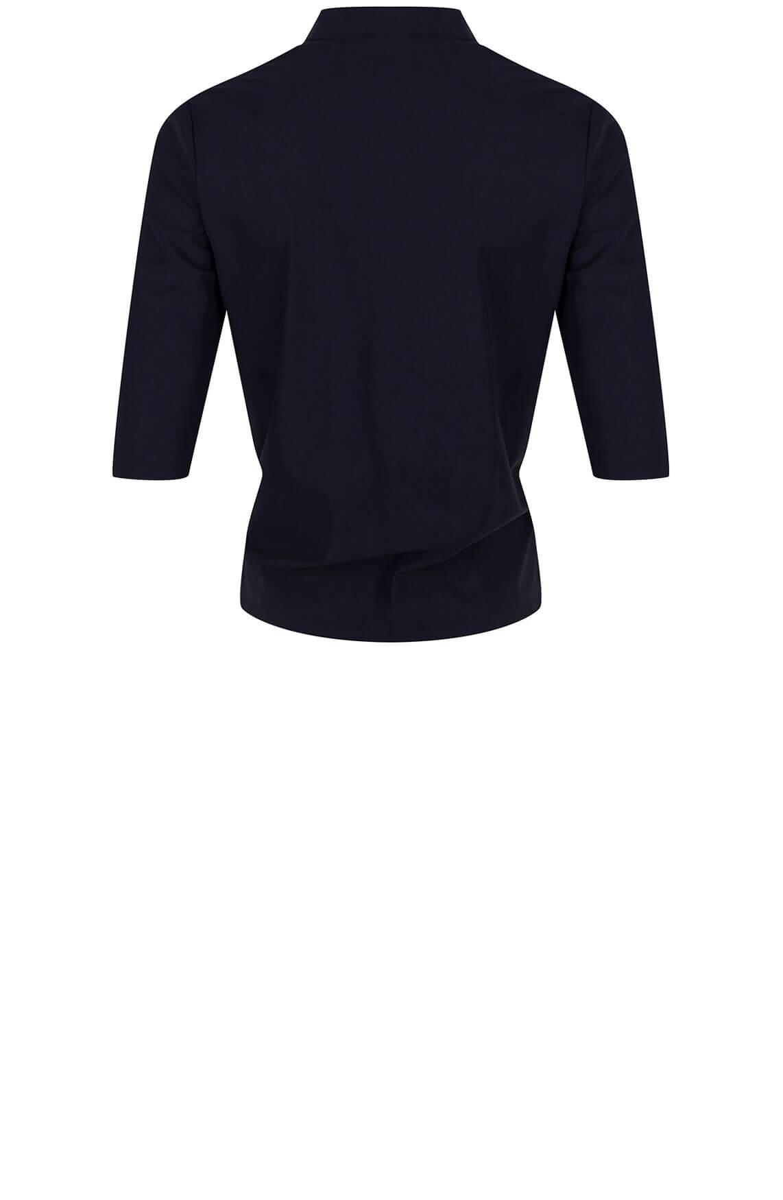 Jane Lushka Dames Chloe cropped blouse Blauw