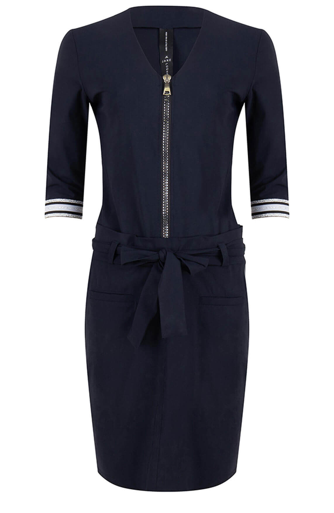 Jane Lushka Dames Leah jurk Blauw