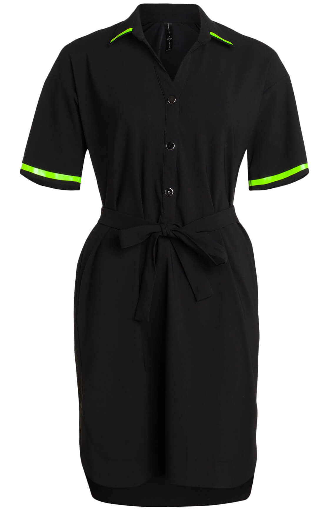 Jane Lushka Dames Nelly jurk zwart