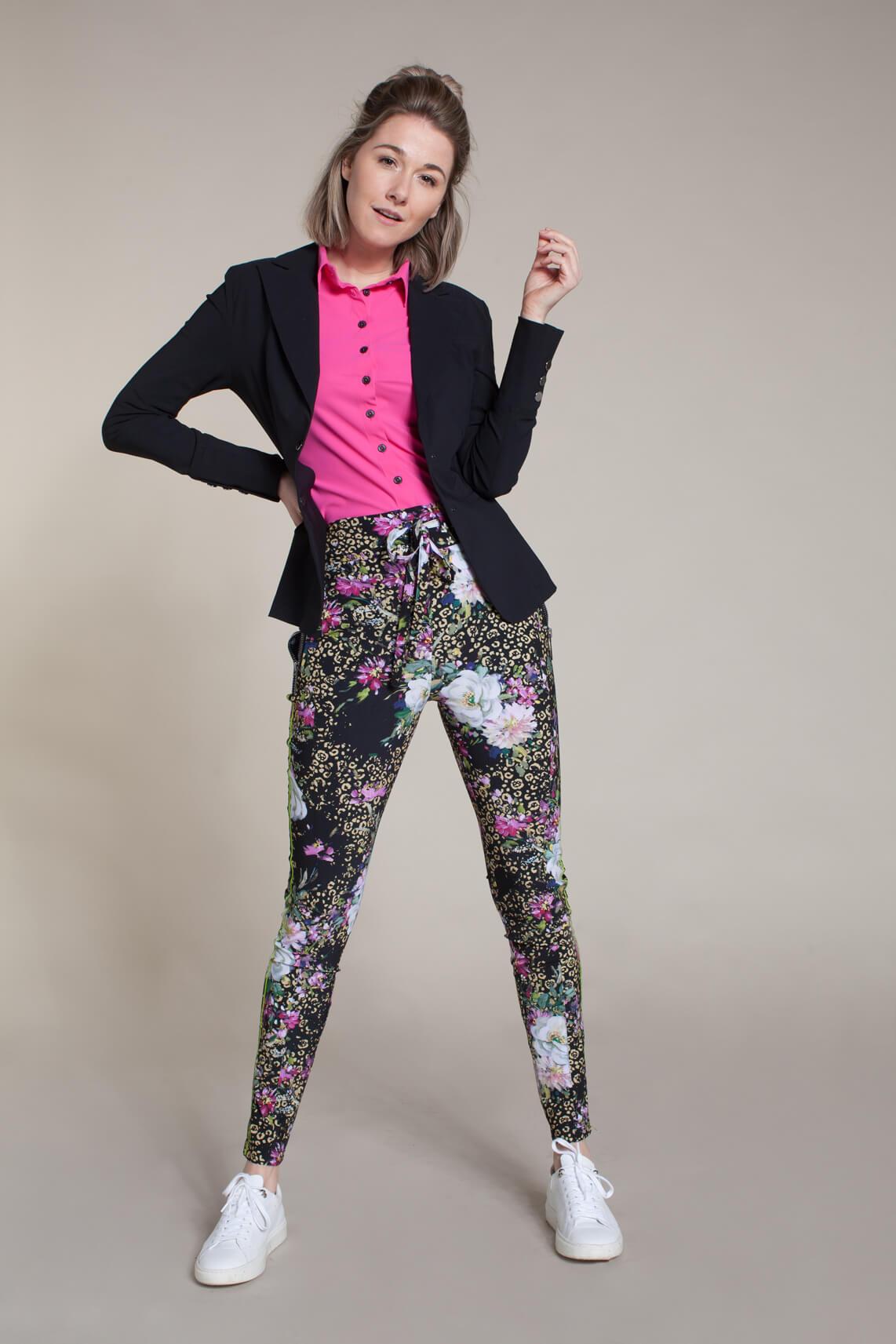 Jane Lushka Dames Khloe broek zwart