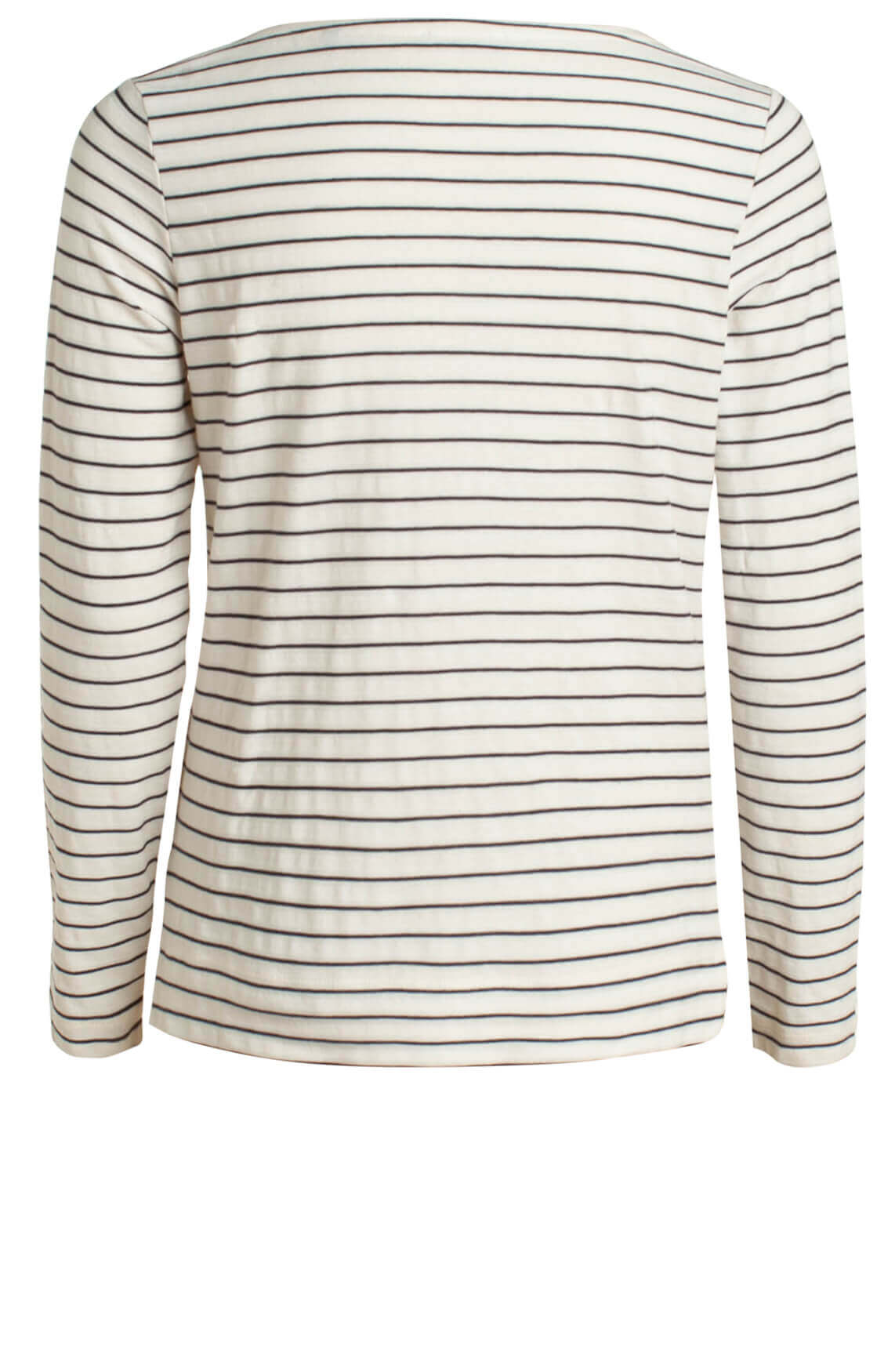 Marc O'Polo Dames Shirt met strepen wit