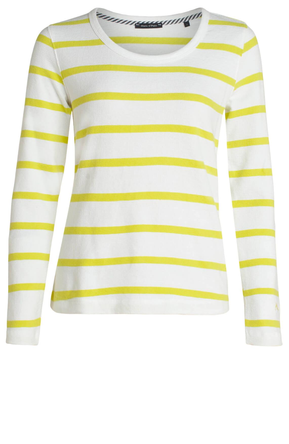 Marc O'Polo Dames Gestreept shirt wit