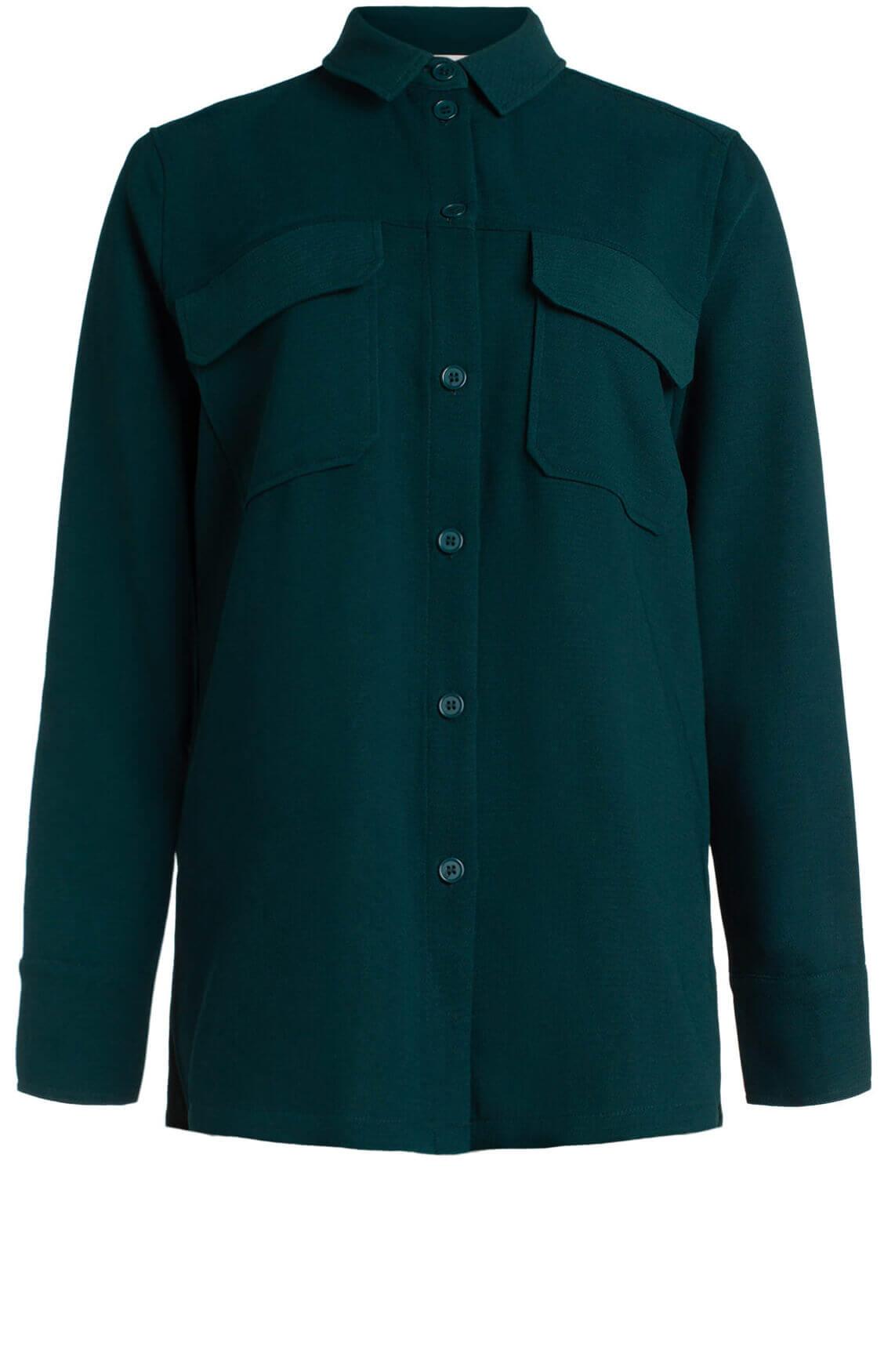 Samsoe Samsoe Dames Denise shirt groen