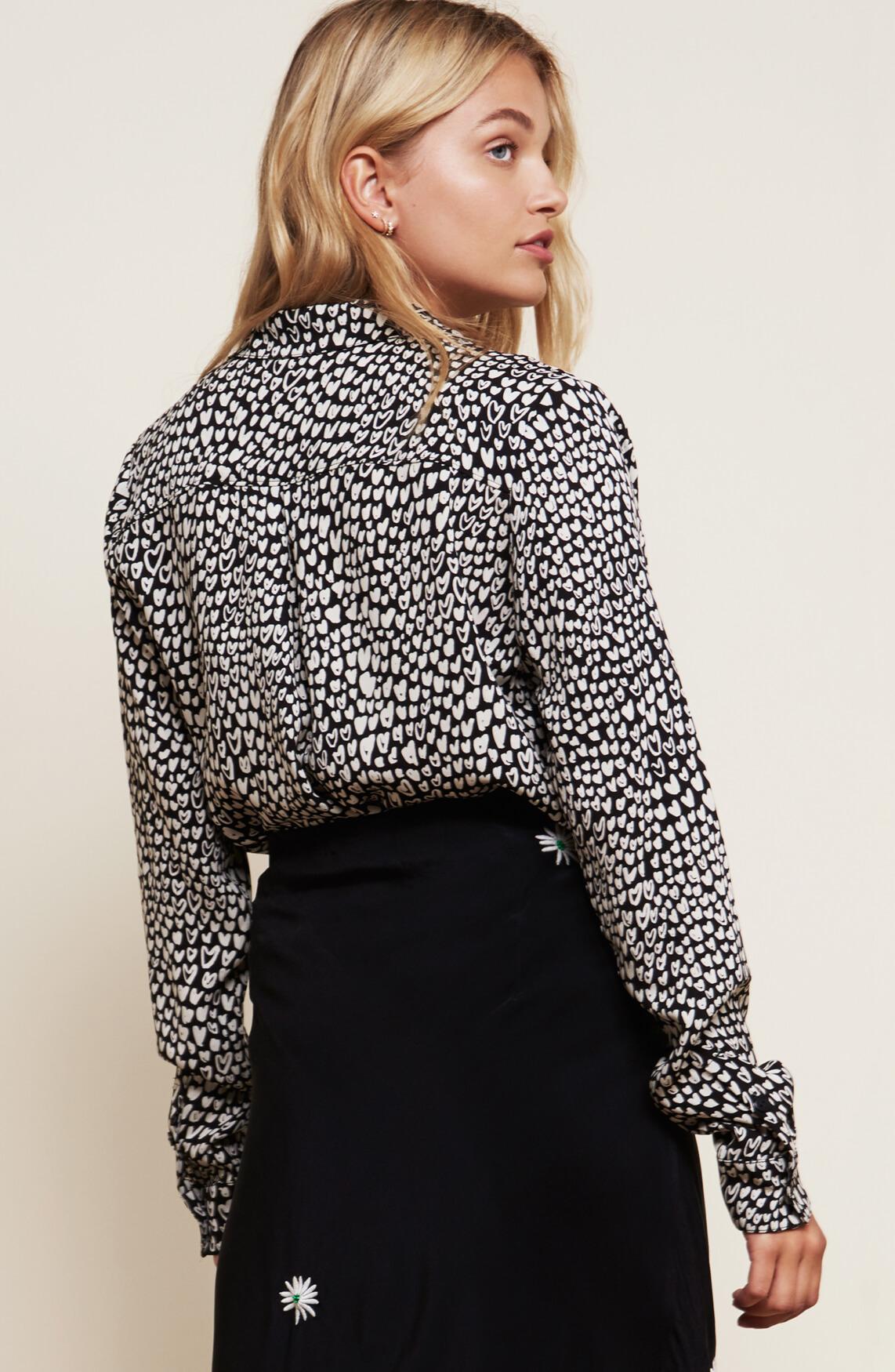 Fabienne Chapot Dames Lily Lou blouse zwart