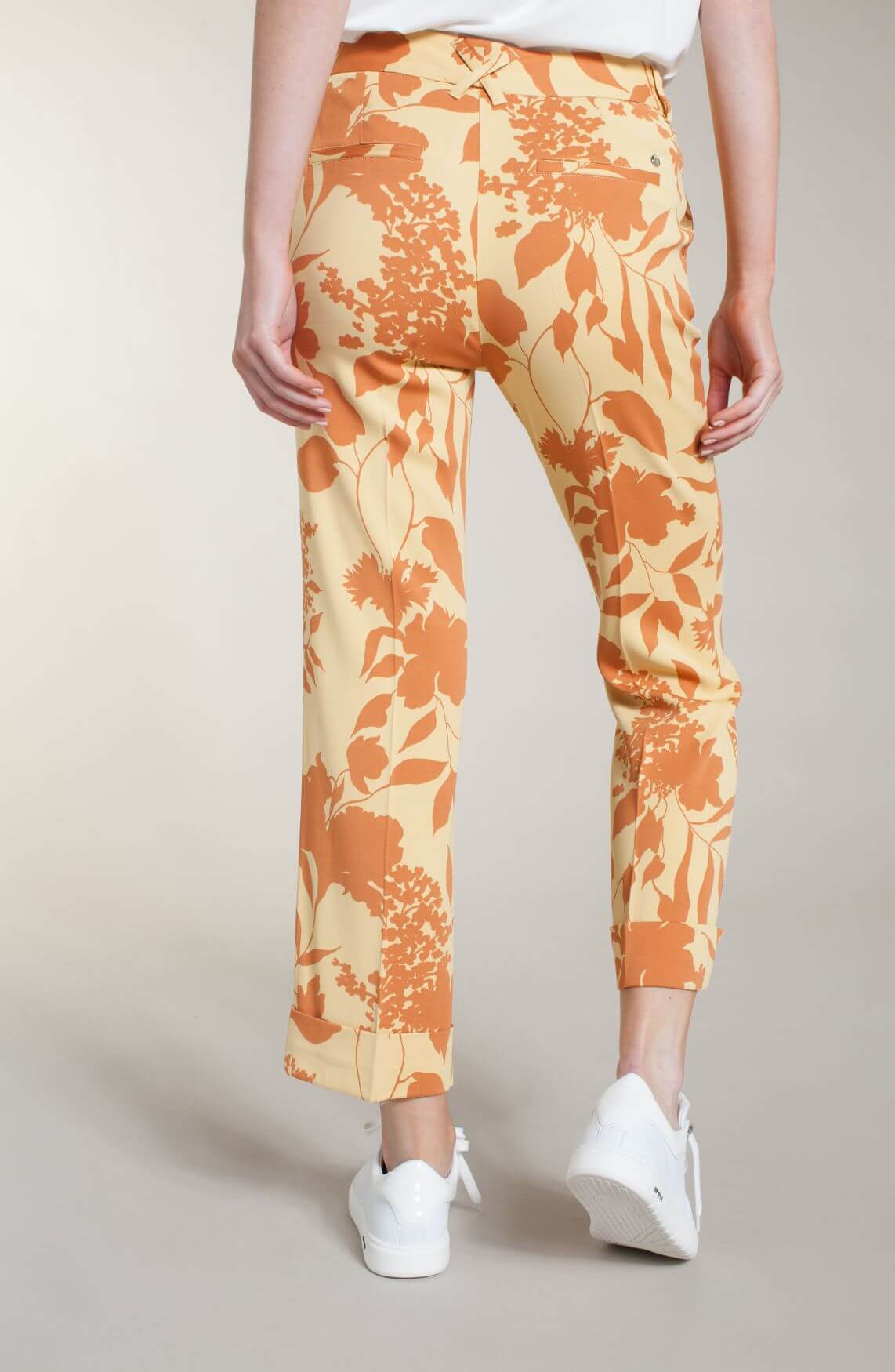 Mos Mosh Dames Bella pantalon geel