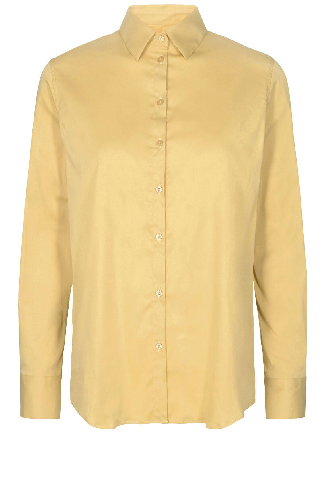 Mos Mosh Dames Martina blouse geel