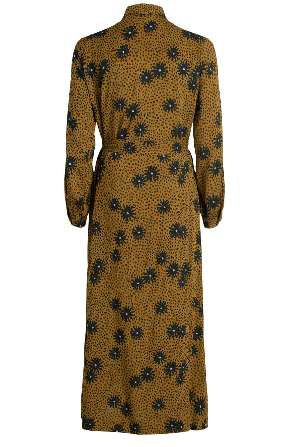 Anna Dames Lange jurk met bloemenprint groen