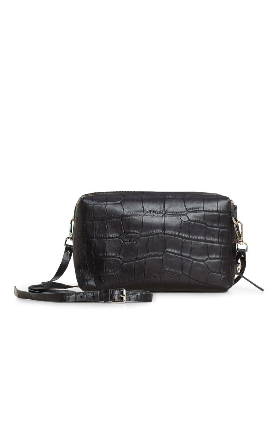 Myomy Dames Boxy Bag MMB Handbag zwart