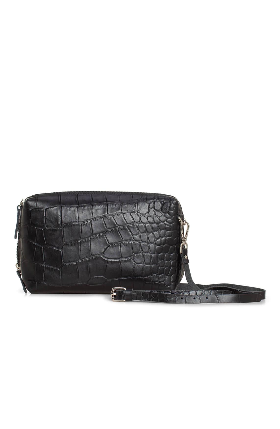 Myomy Dames Boxy Bag MMB Handbag zwart