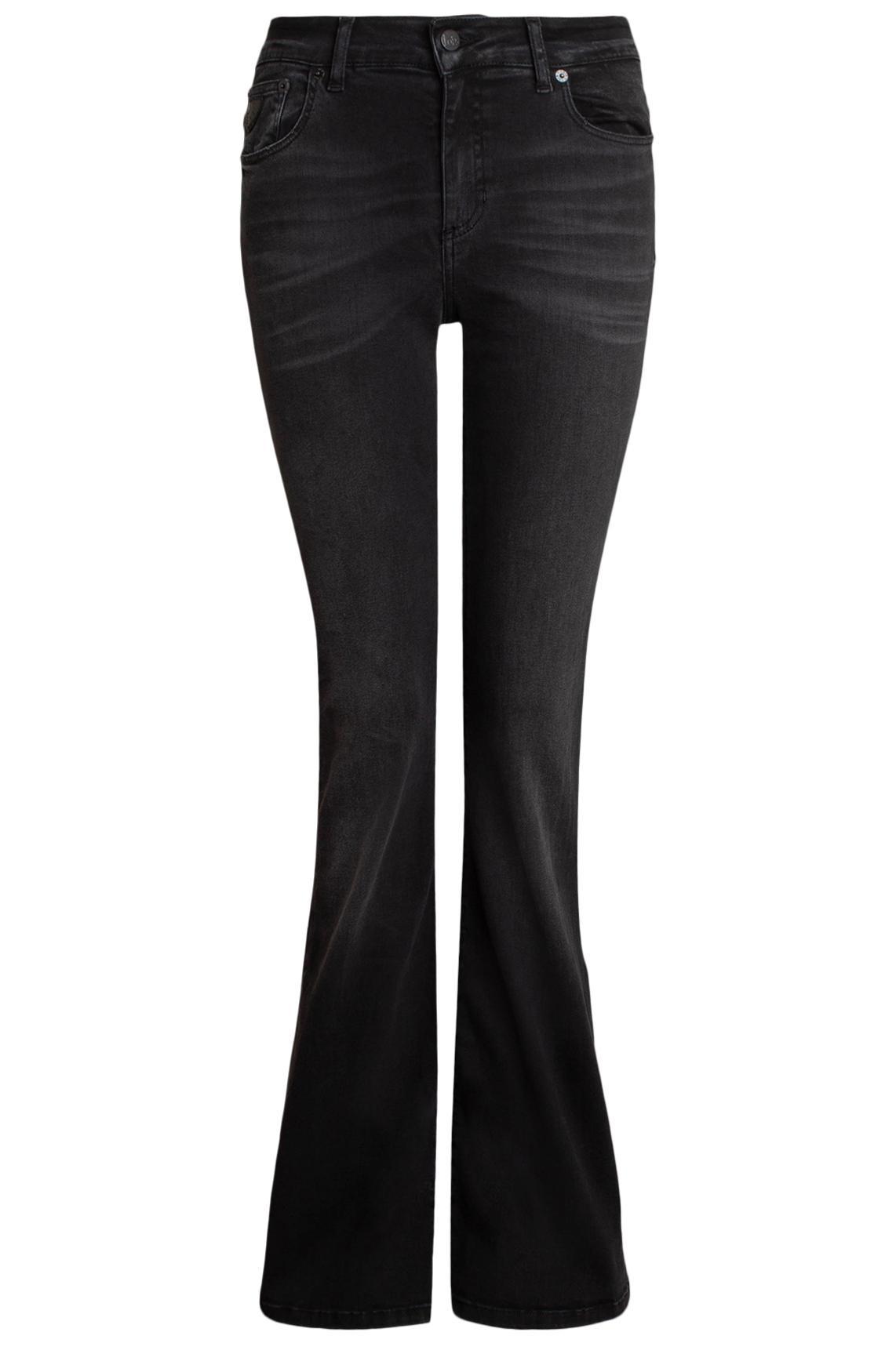 Lois Dames L32 Leia Onix flared jeans zwart