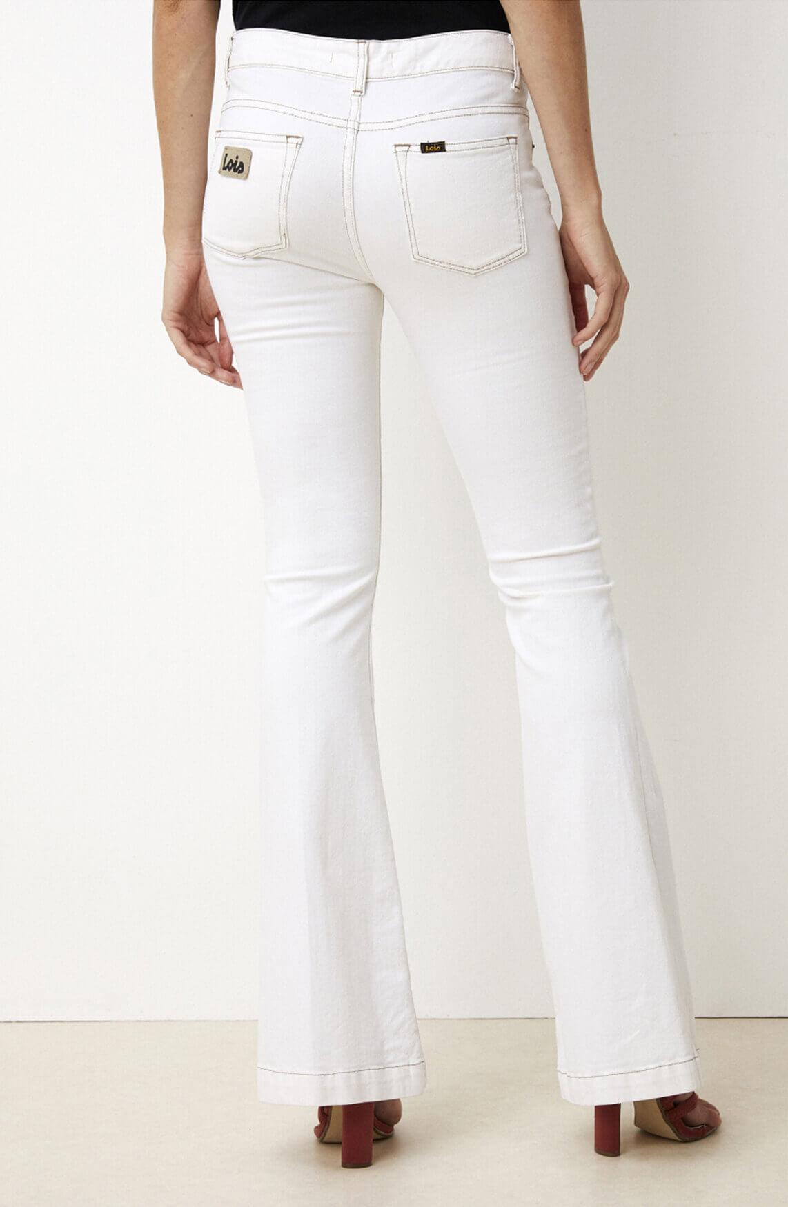 Lois Dames Cheers Chic jeans L34 Ecru