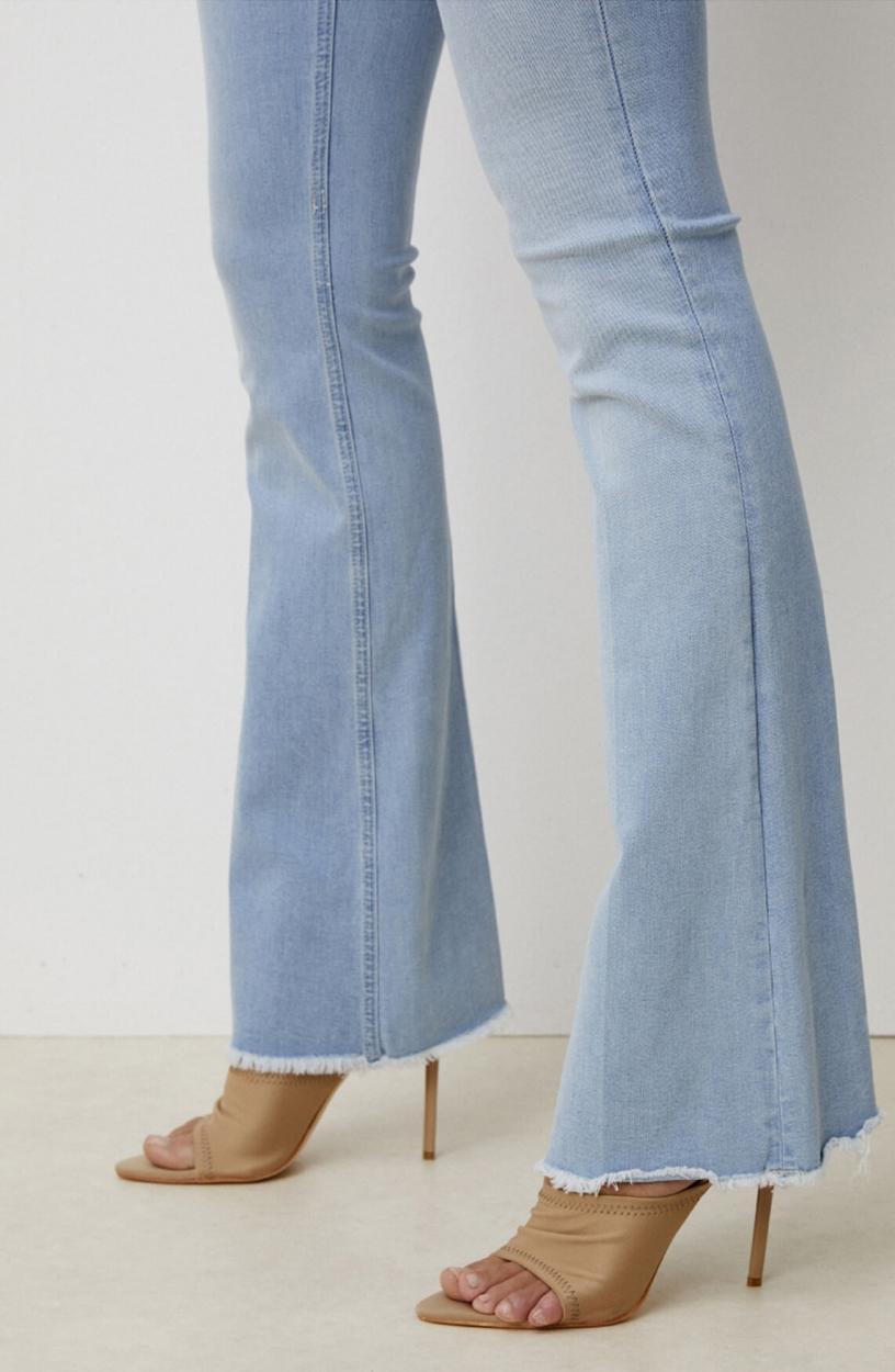 Lois Dames L32 Melrose flared jeans Blauw