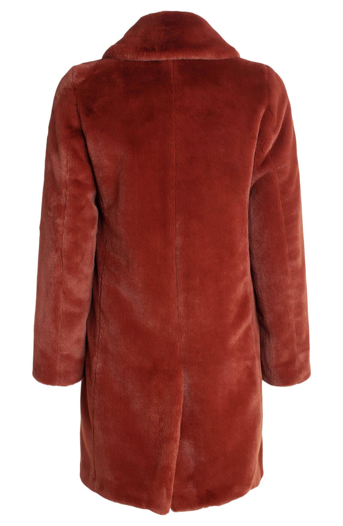 Moscow Dames Fake fur jas Bruin