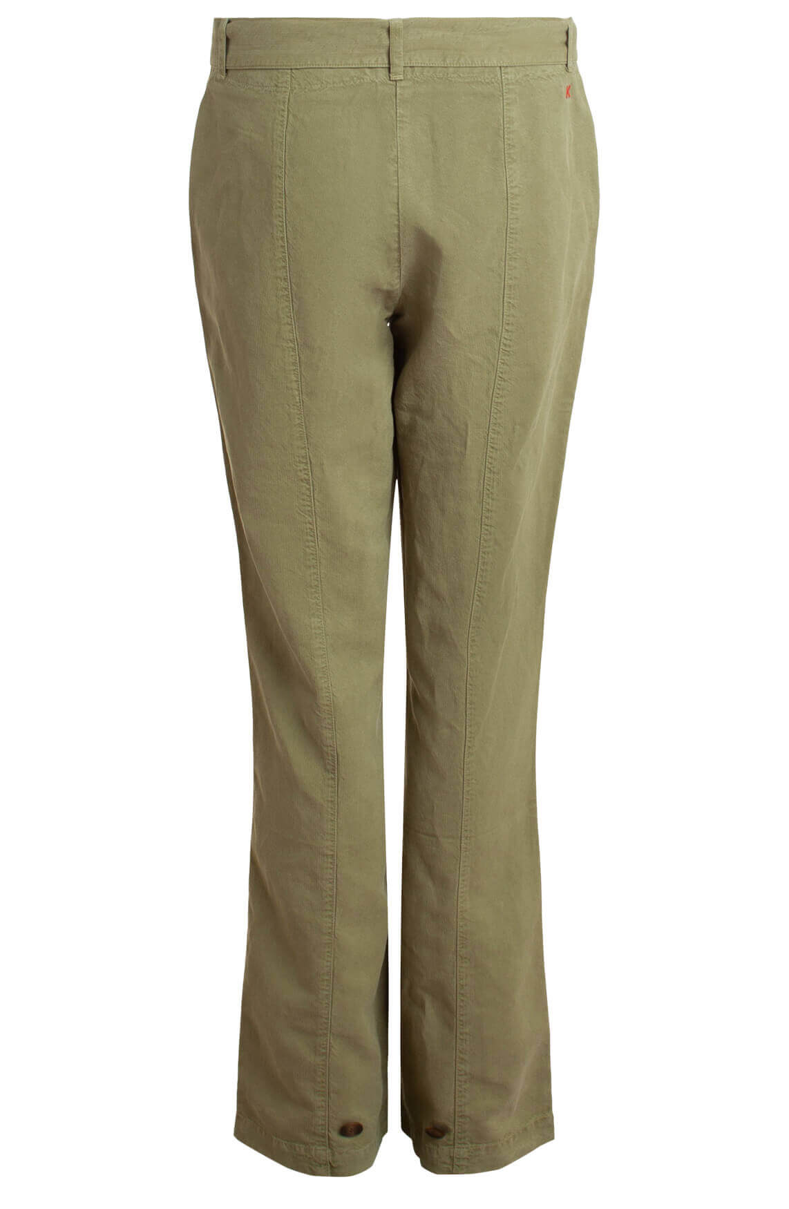 Anna Blue Dames Tencel pantalon groen