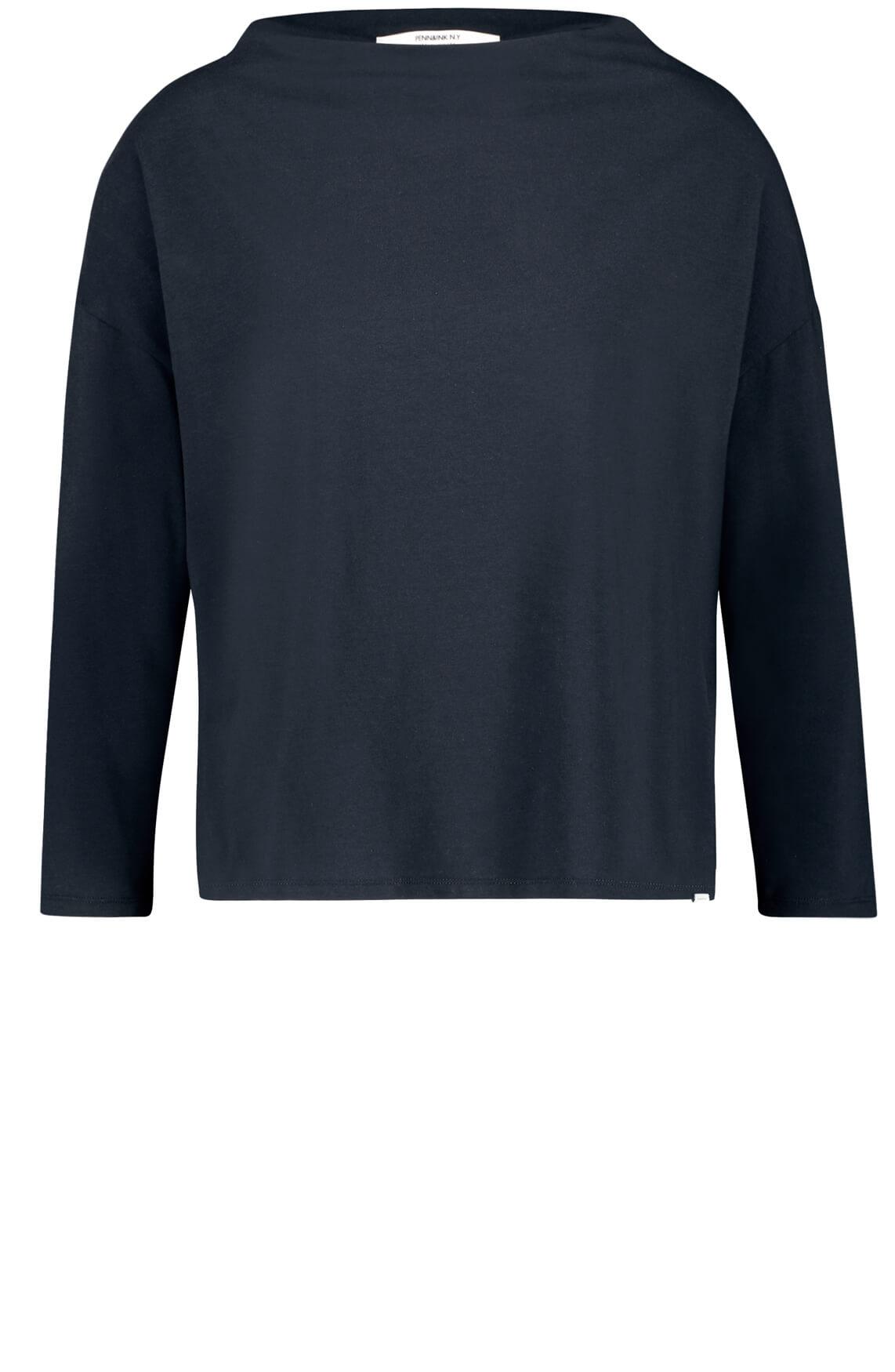 Penn & Ink Dames Shirt Blauw
