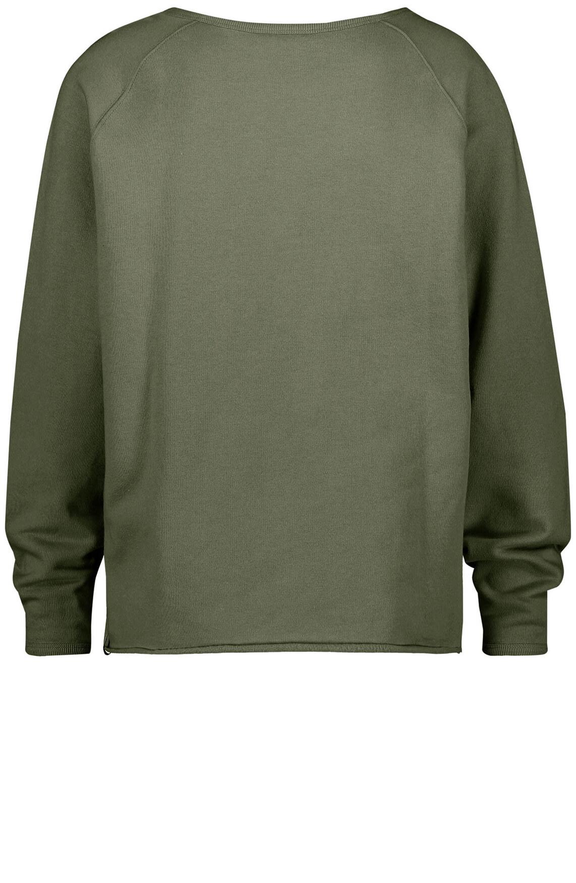 Penn & Ink Dames Sweater groen