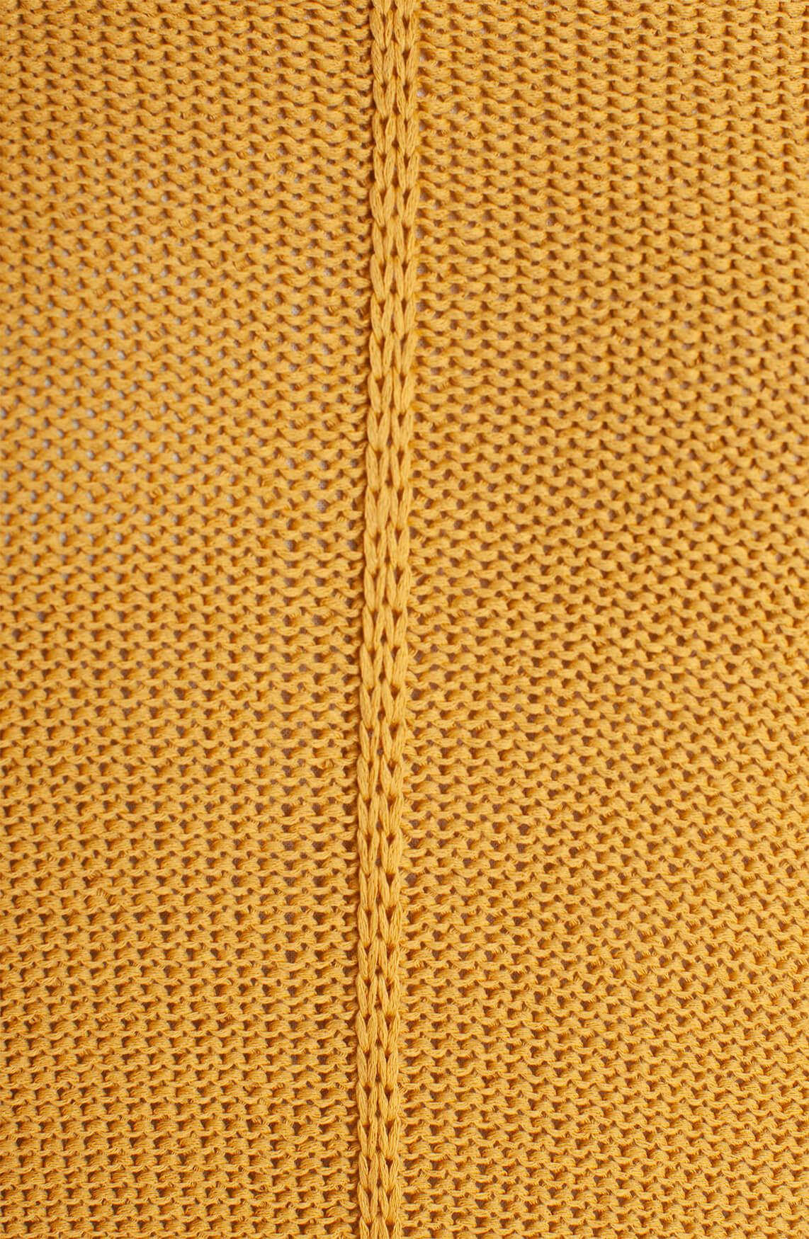 Anna Dames Gebreide pullover geel