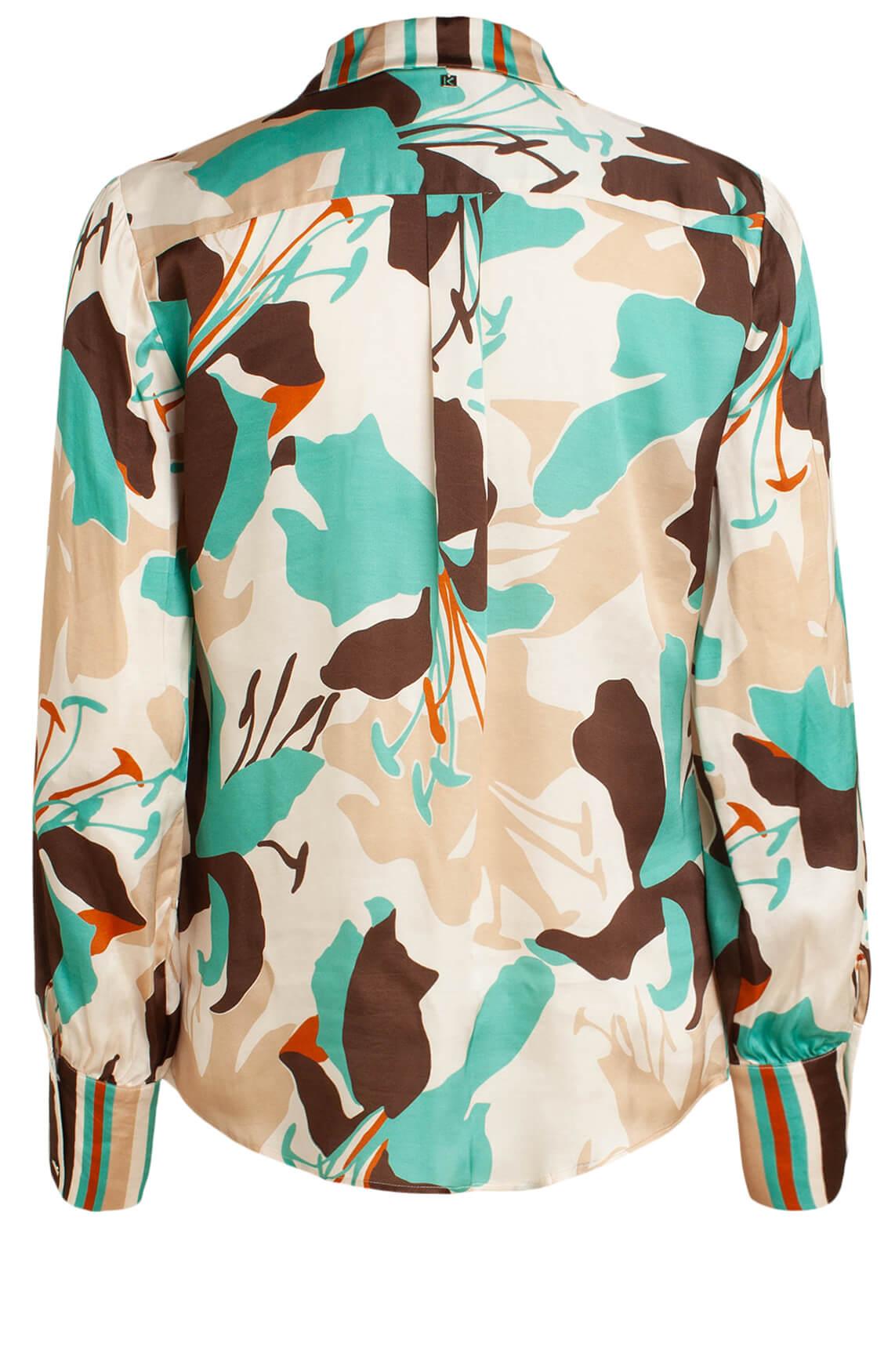 Kocca Dames Nabore blouse Bruin