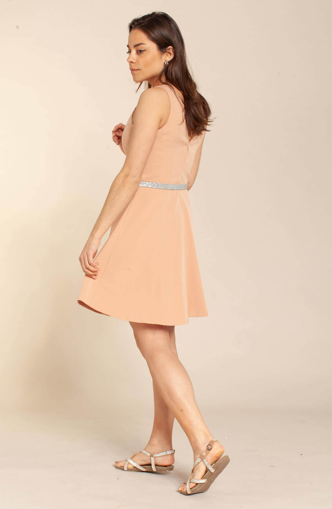 Kocca Dames Nazaira jurk roze